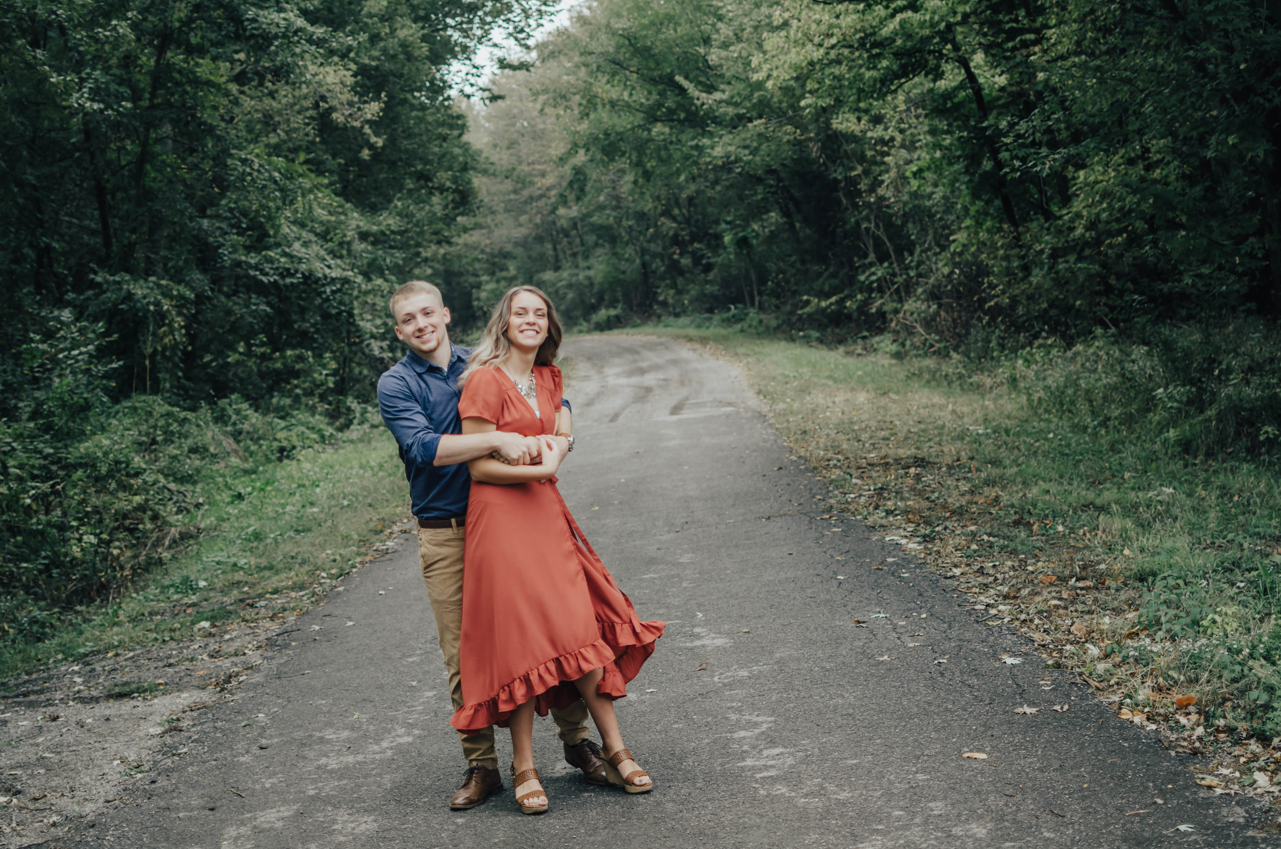"""Bright & fun! - """"You were very calm and laid back. Something I need in my photographer on my stressful wedding day! Keep doing what you're doing!""""- Cady & Blake"""