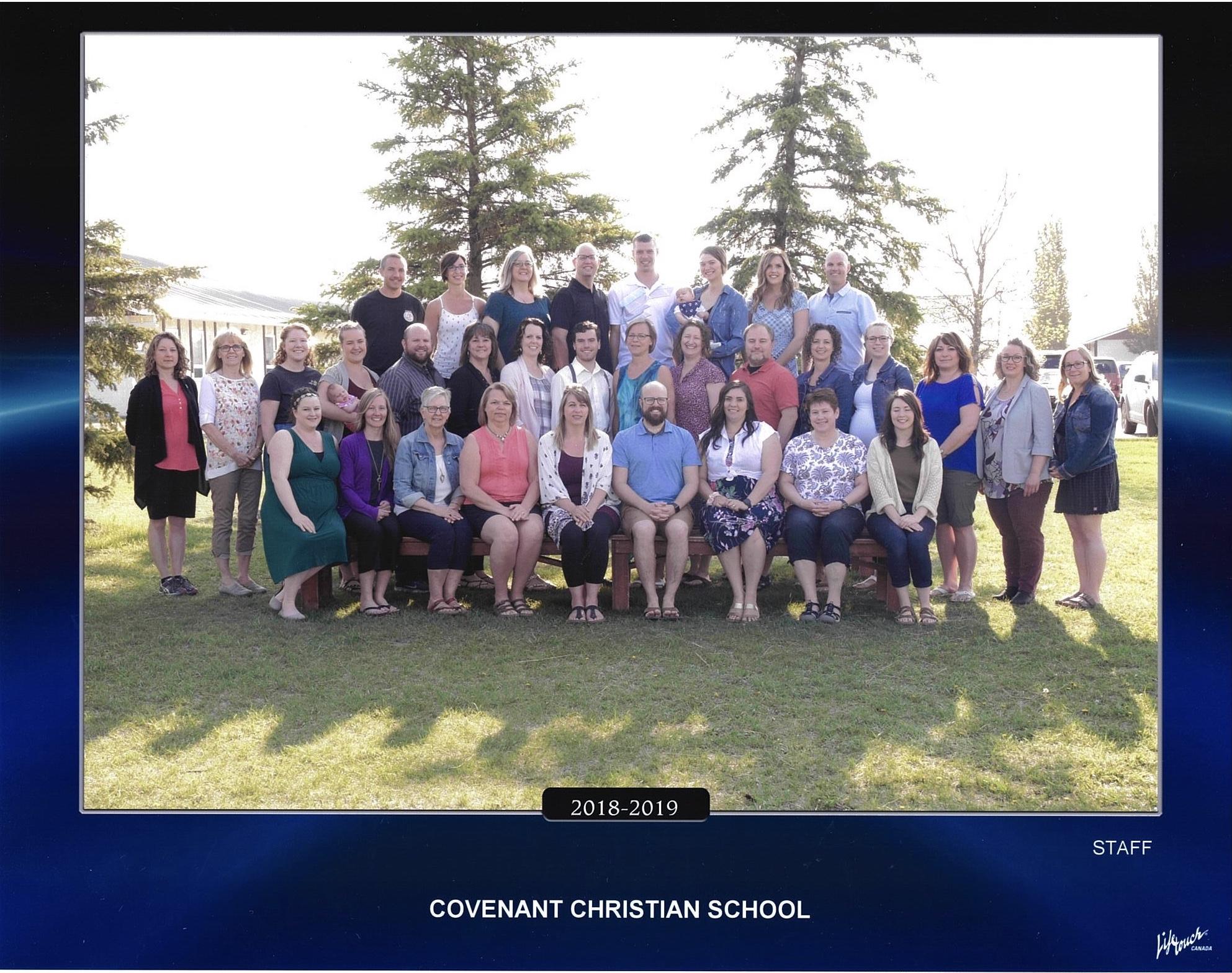 Covenant Christian School Staff
