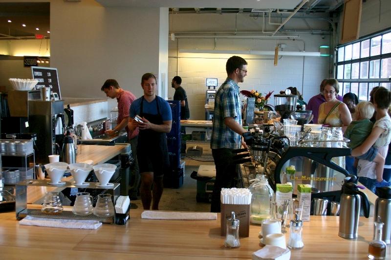 Hallowed Grounds   Peregrine Espresso   Bayou Bakery   Bourbon Coffee
