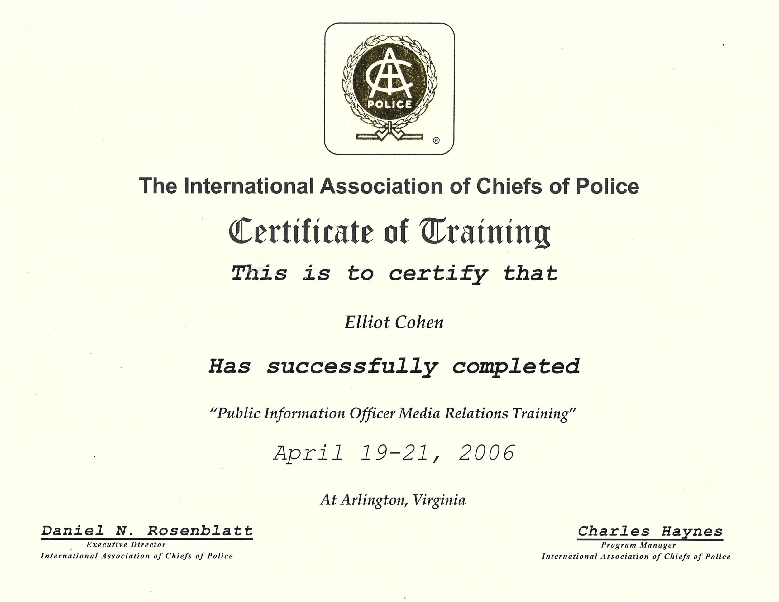 Elliot Cohen IACP Certificate.png