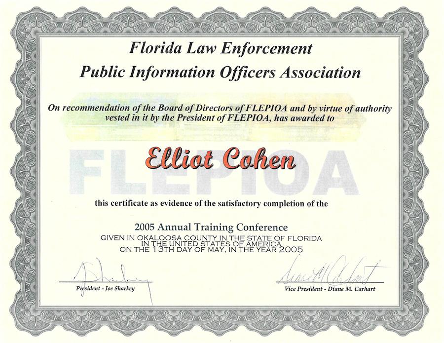 Elliot Cohen FLEPIOA Certificate copy.png