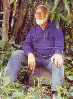 Bill Mollison - The Father of Permaculture- Bill began developing ideas about stable agriculture in the 60s and coined the word Permaculture in the 70s.