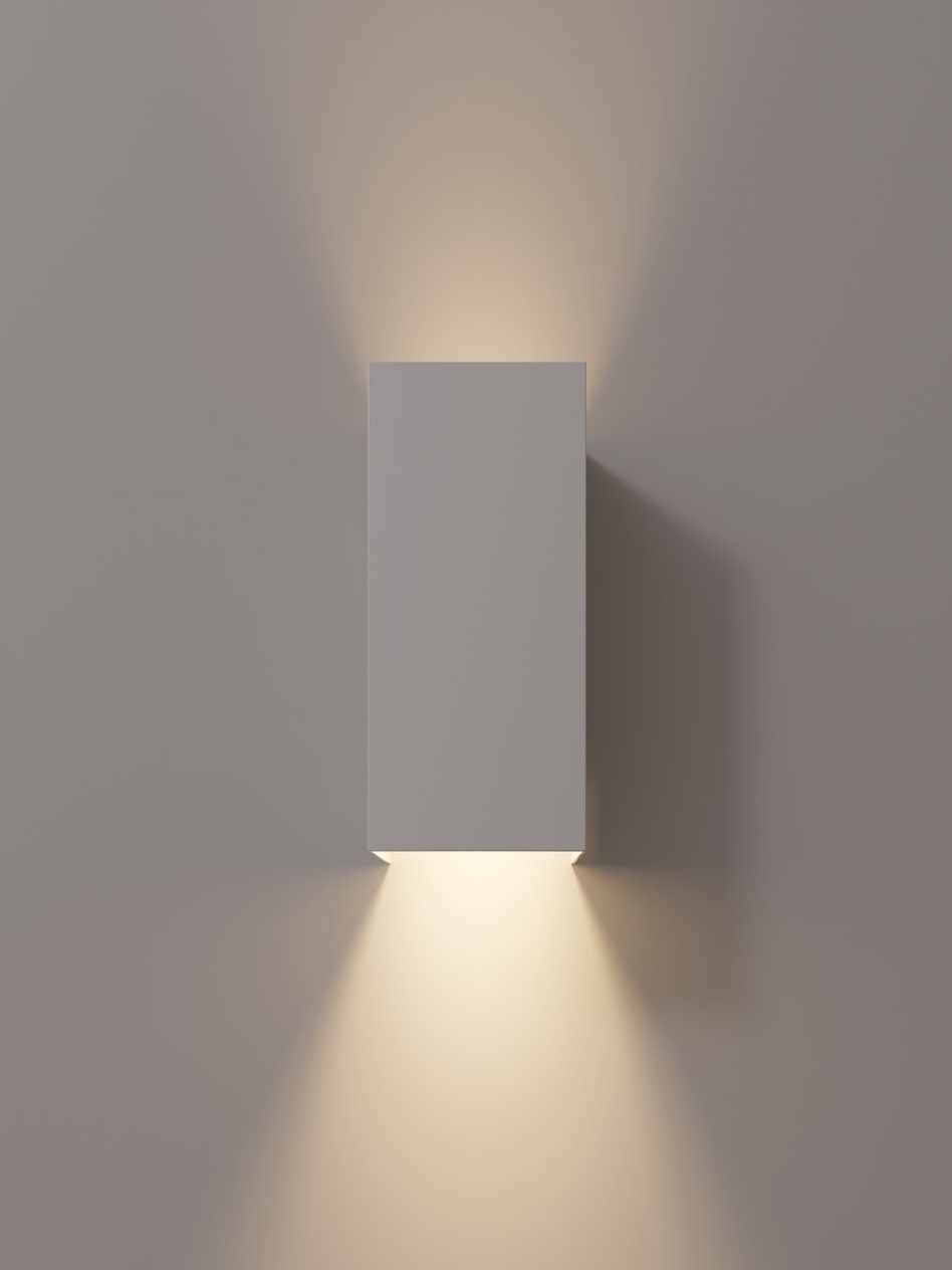 No panel, 2-way light, shown in white