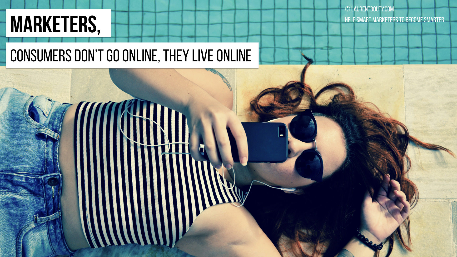 Marketers, Consumers live online