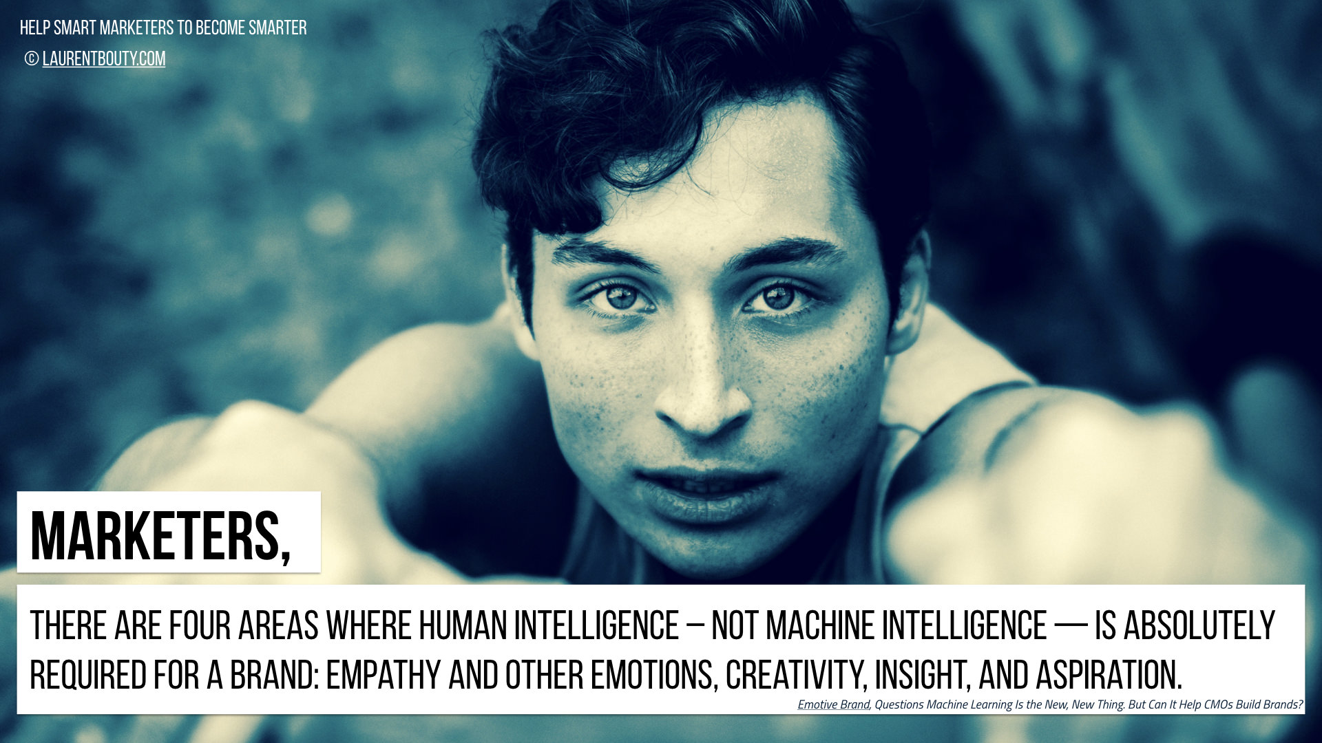 Marketers, There are Four Areas where Human Intelligence is Key for a Brand