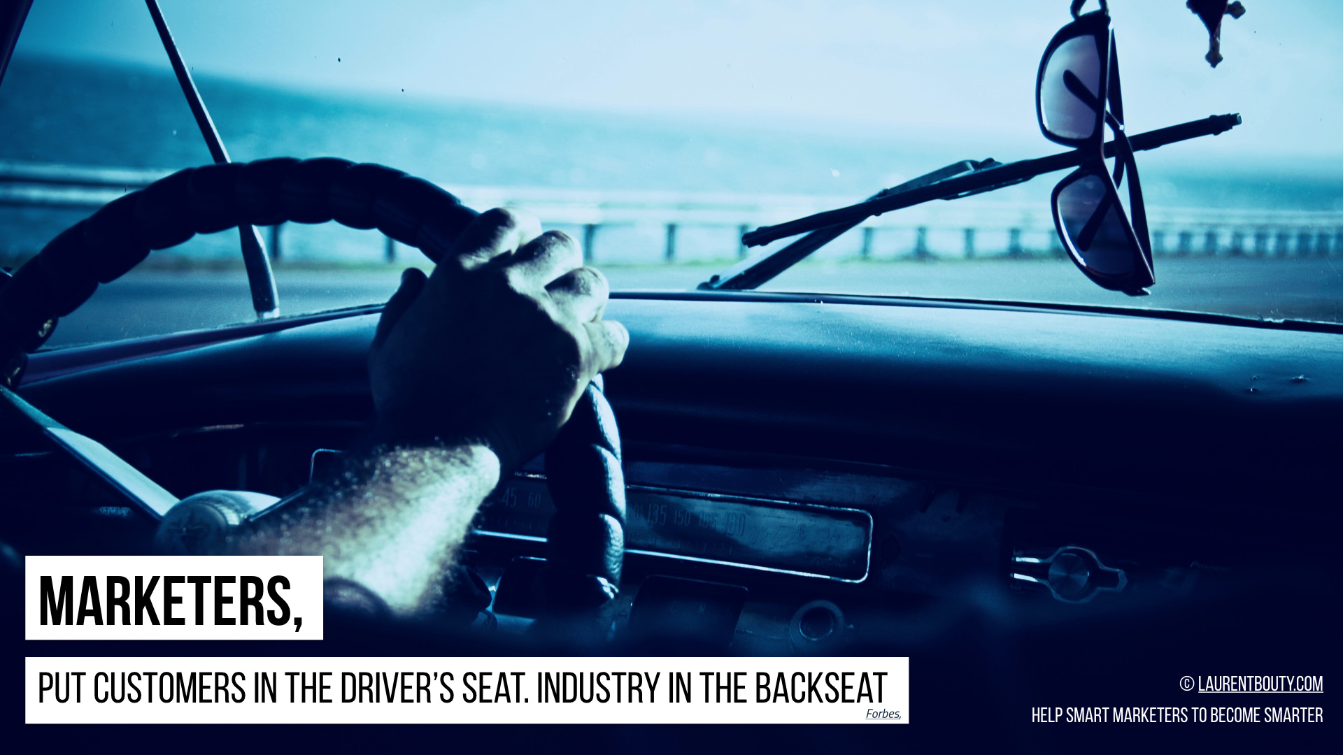 Marketers, Put Customers in the Driver's Seat