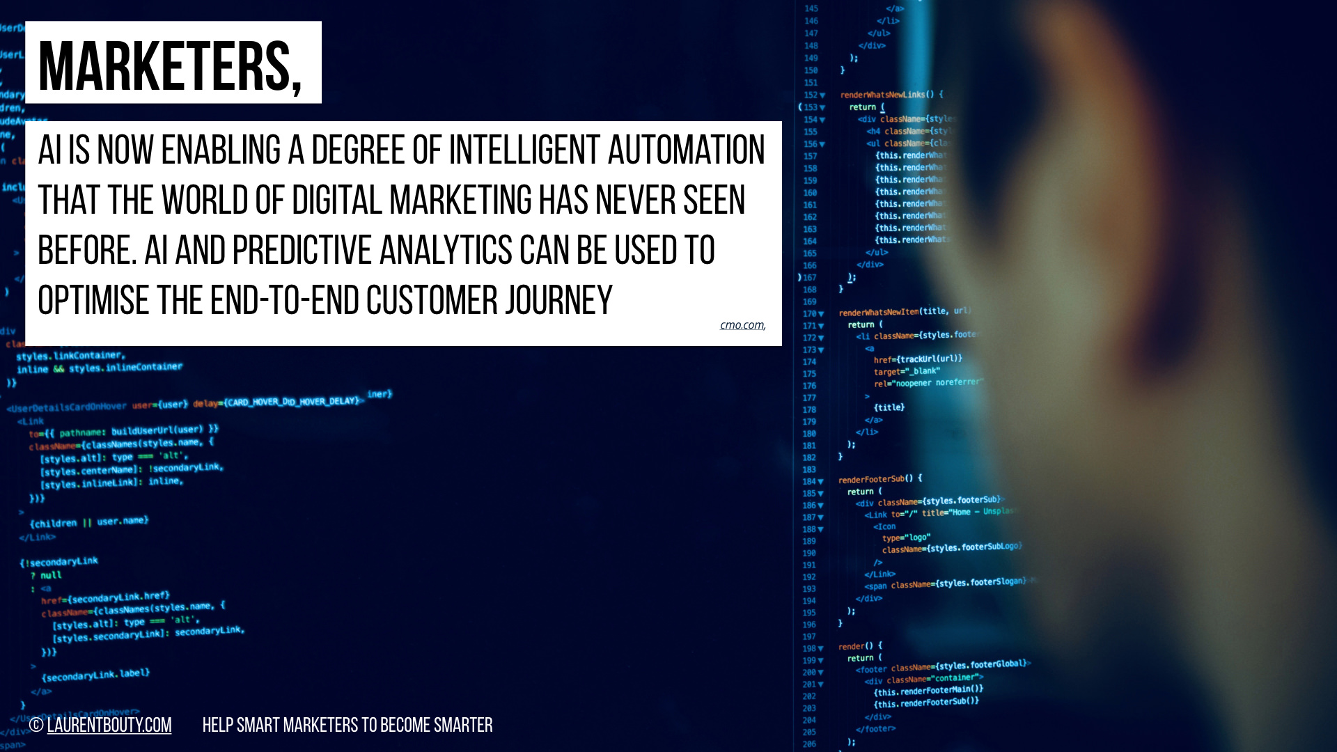 Marketers, AI is now enabling intelligent automation