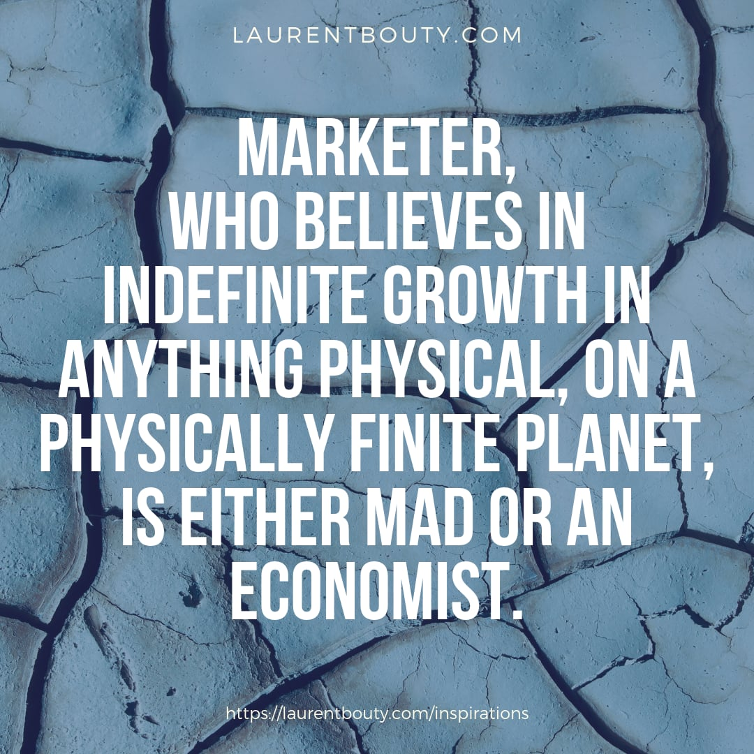 Marketer who believes in ...