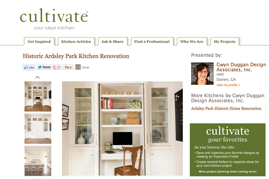 Cultivate Historic Ardsley Park Kitchen Renovation