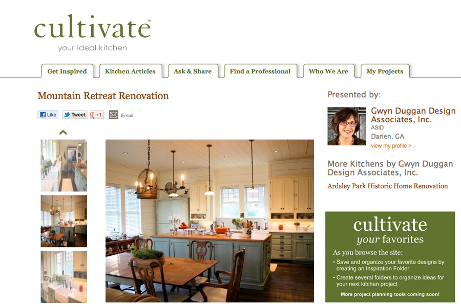 Cultivate Mountain Retreat Renovation