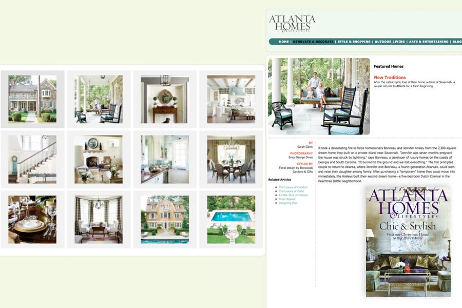 Atlanta Homes & Lifestyles, 100 Superlative Spaces
