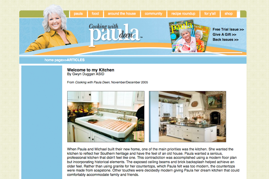 Cooking with Paula Deen Nov/Dec 05