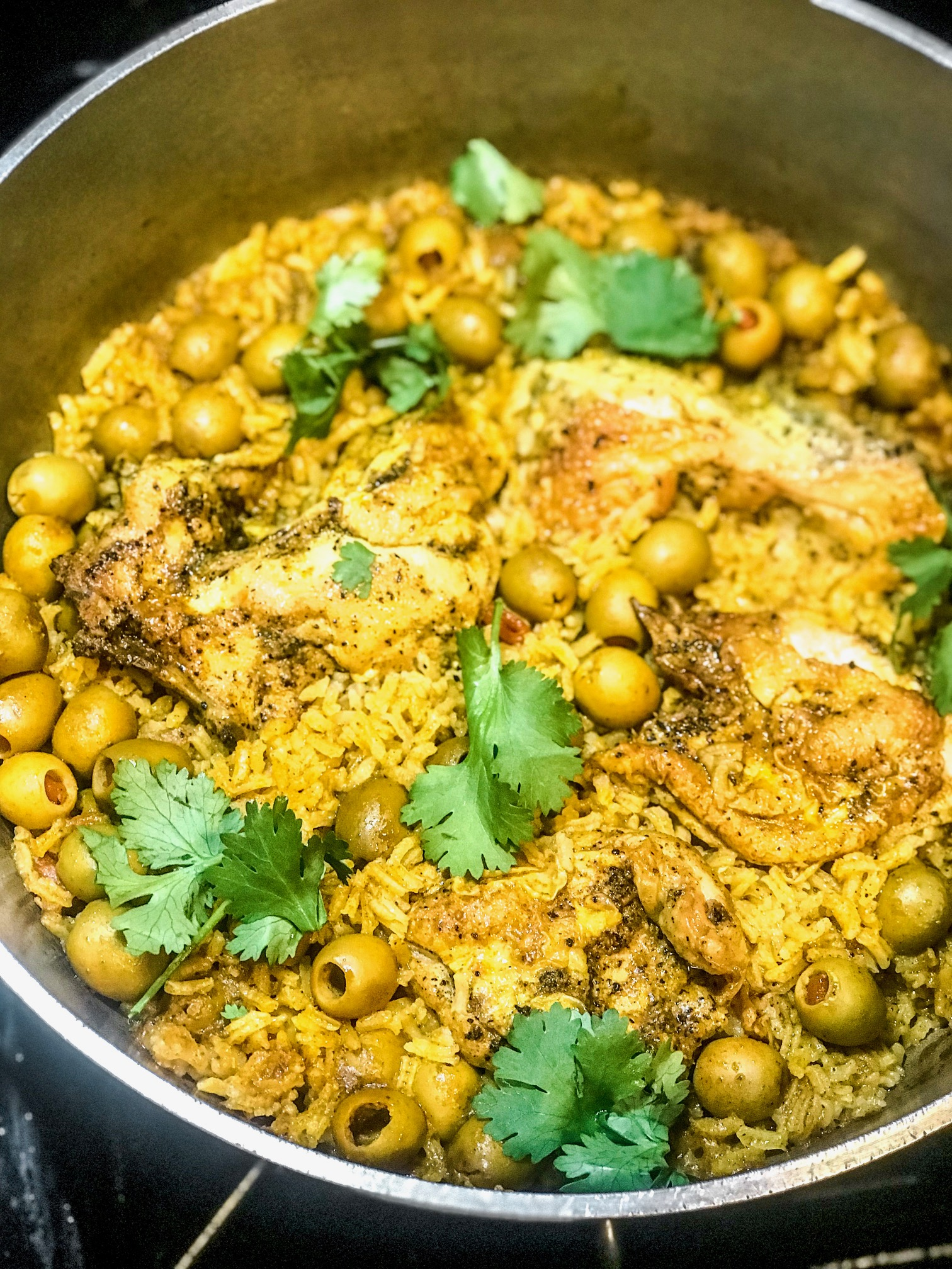 arroz con pollo finished.JPG