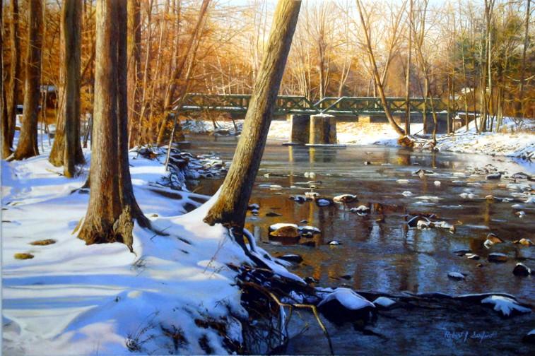 Photo titled 'Tinicum Creek at Ottsville'