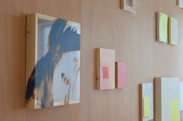 Installation shot,  DEGREE SH6W , Edinburgh College of Art, 2016
