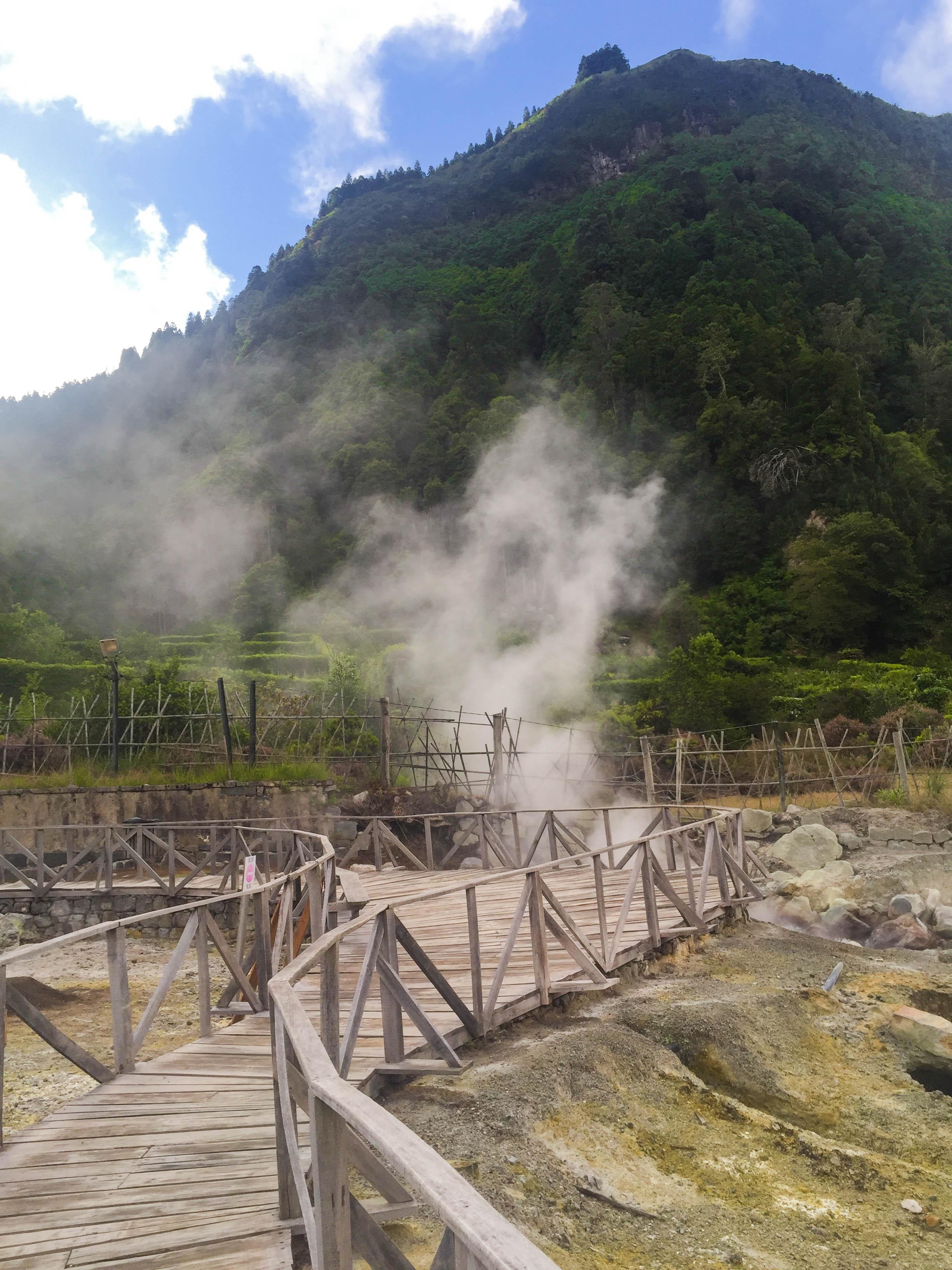The natural cooking stove of Cozido das Furnas