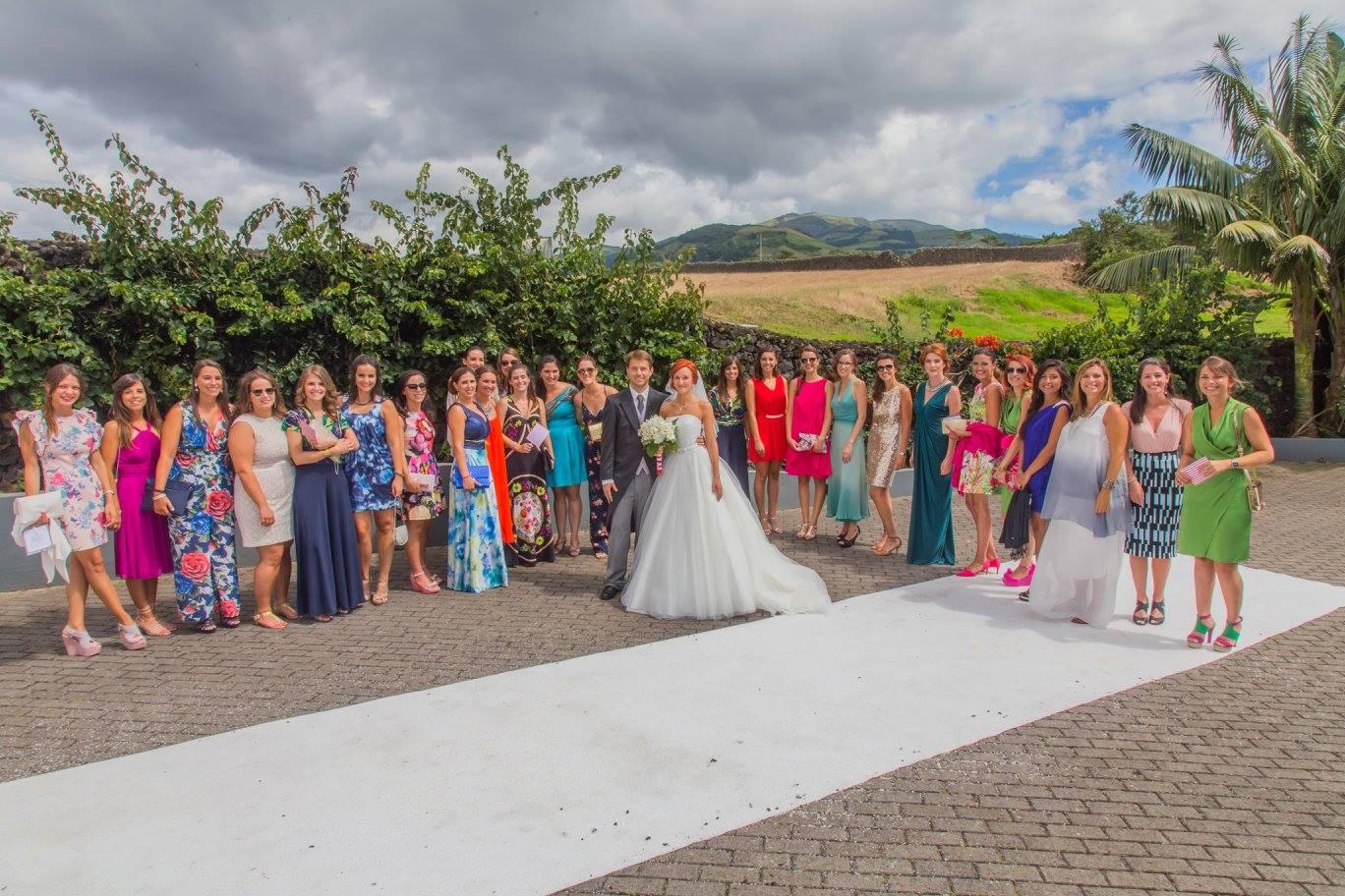 Azores wedding