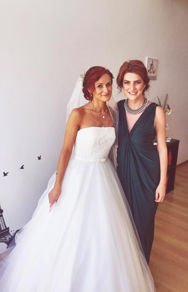 Anamaria, the bride