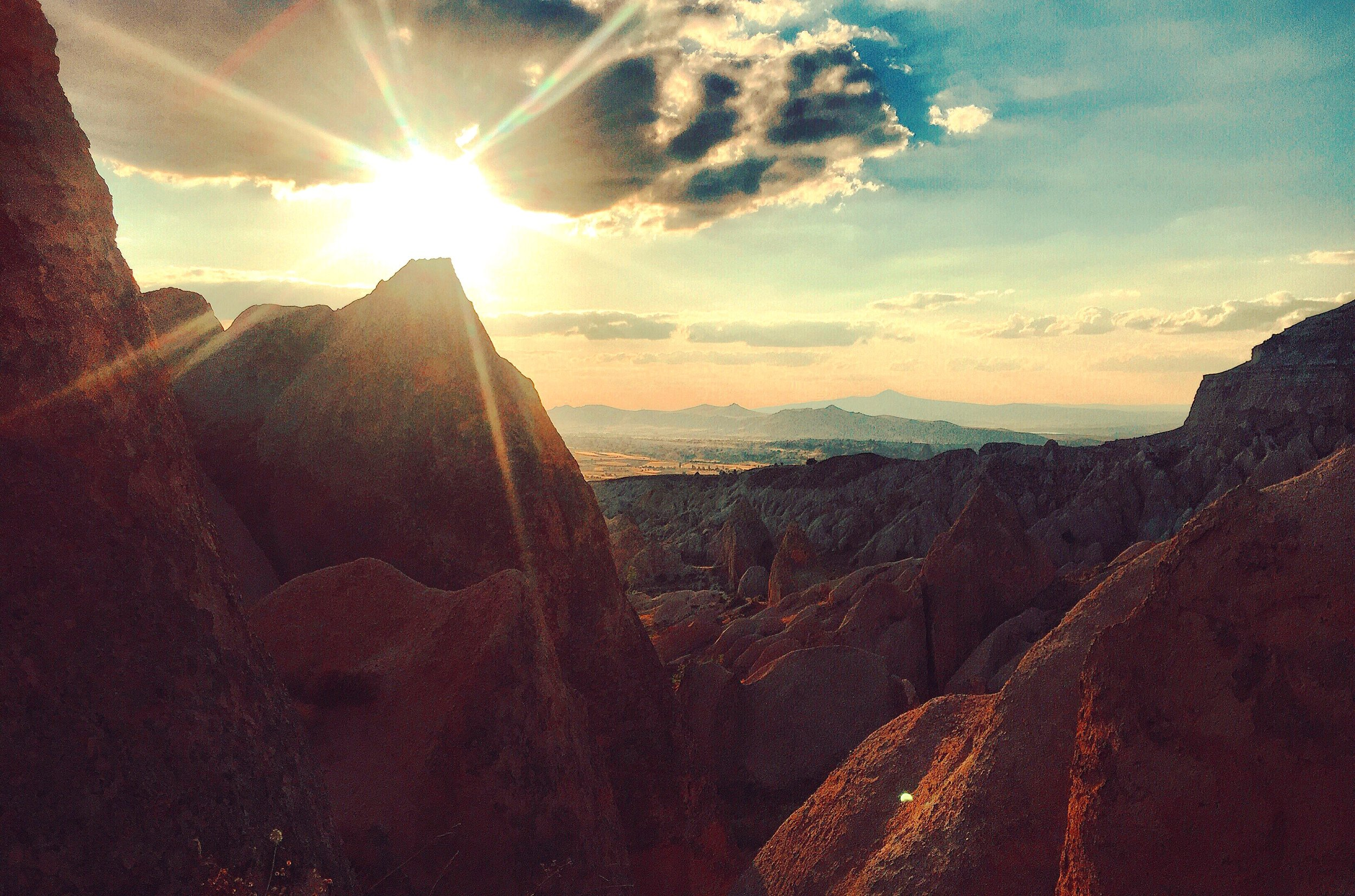 Red Rose Valley, Sunset Time, Cappadocia, Turkey