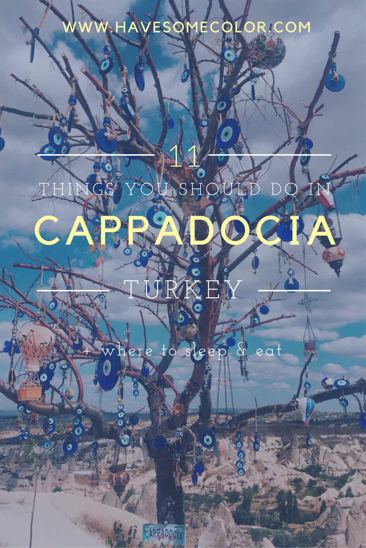 Top things you should do in Cappadocia, Turkey   Where to sleep and eat in Cappadocia