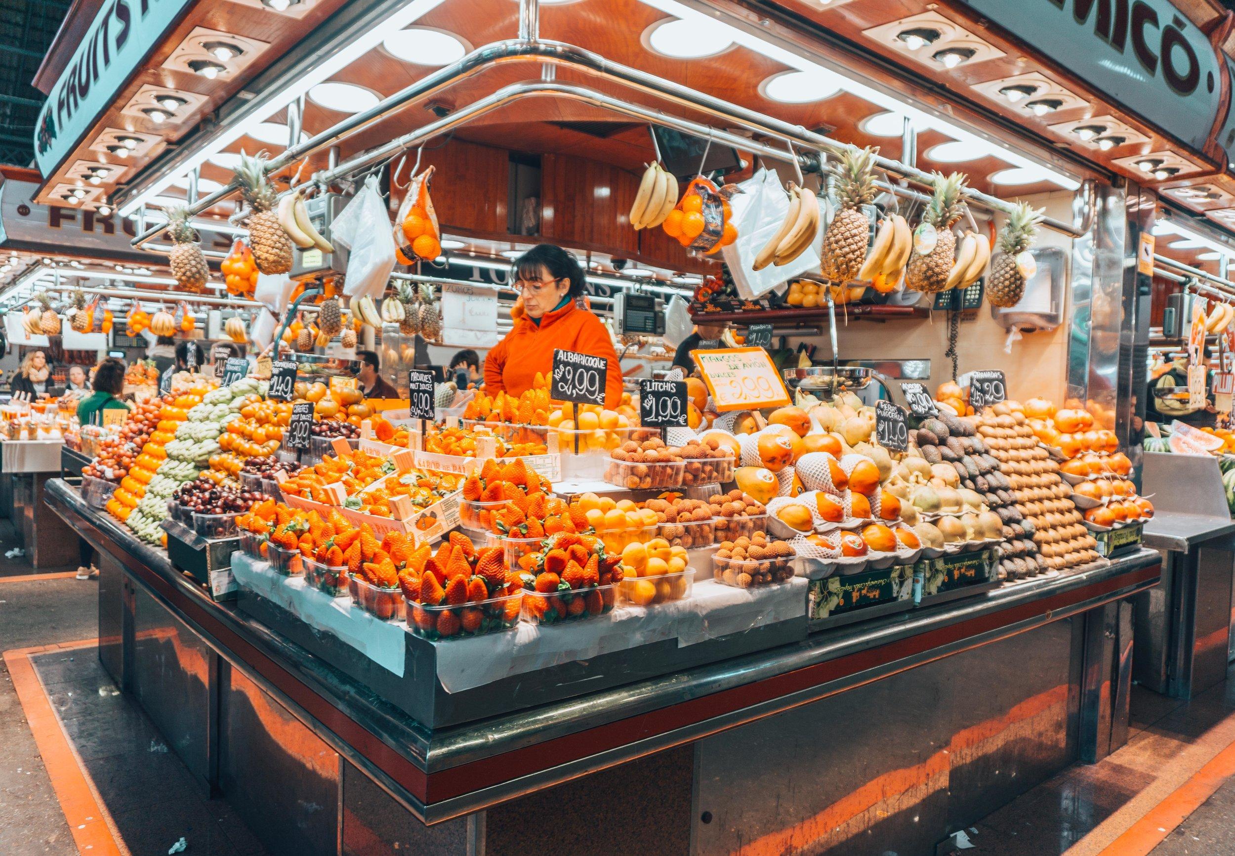 La Boqueria Market, Barcelona - A Foodie's Paradise