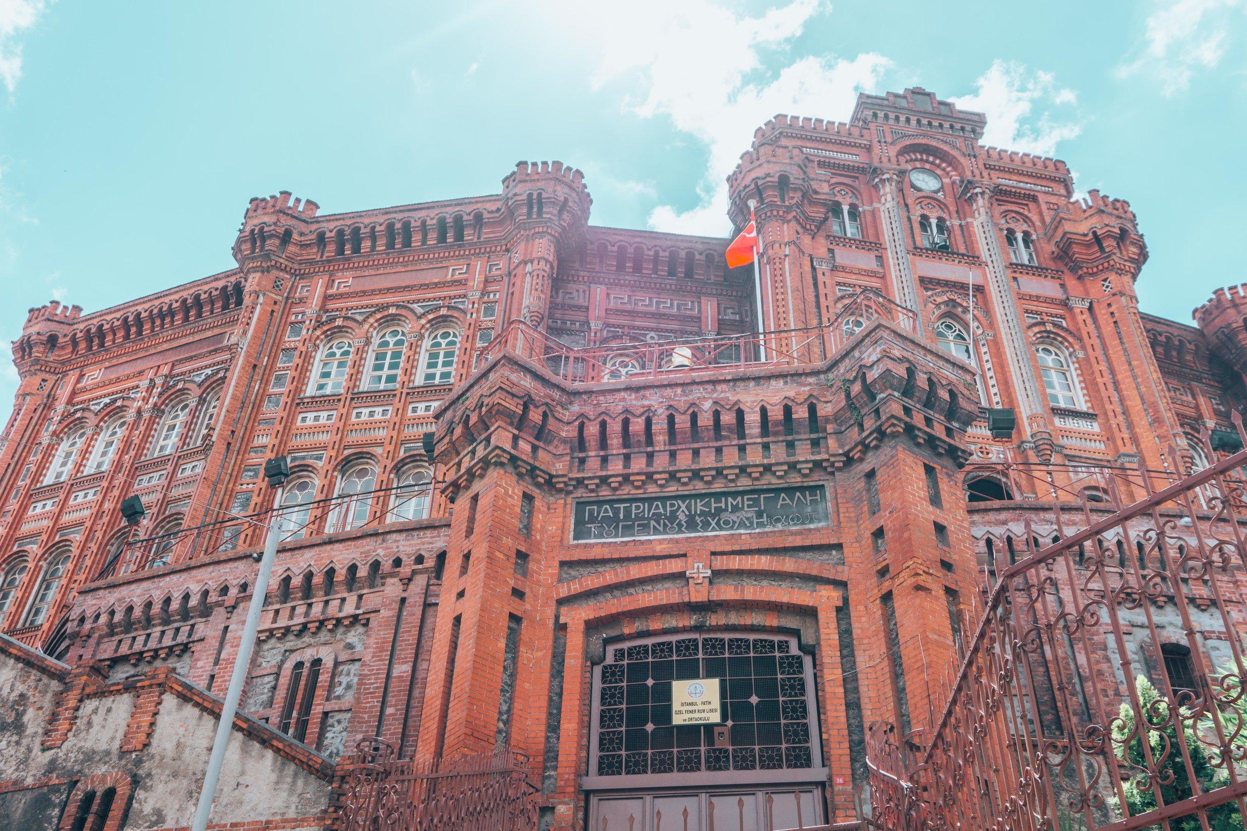 Balat's Greek Orthodox College Fener
