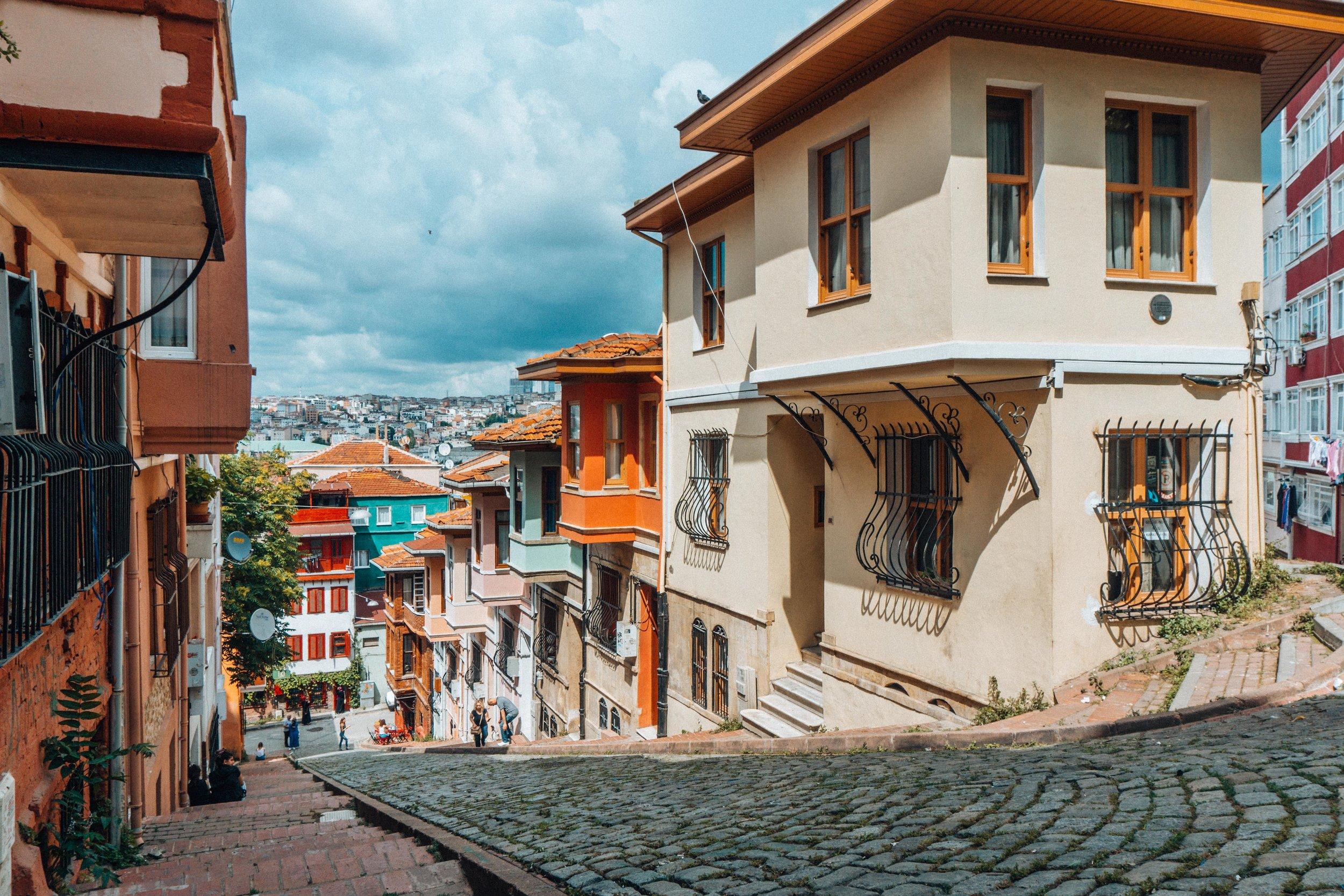 Streets of Balat, Istanbul