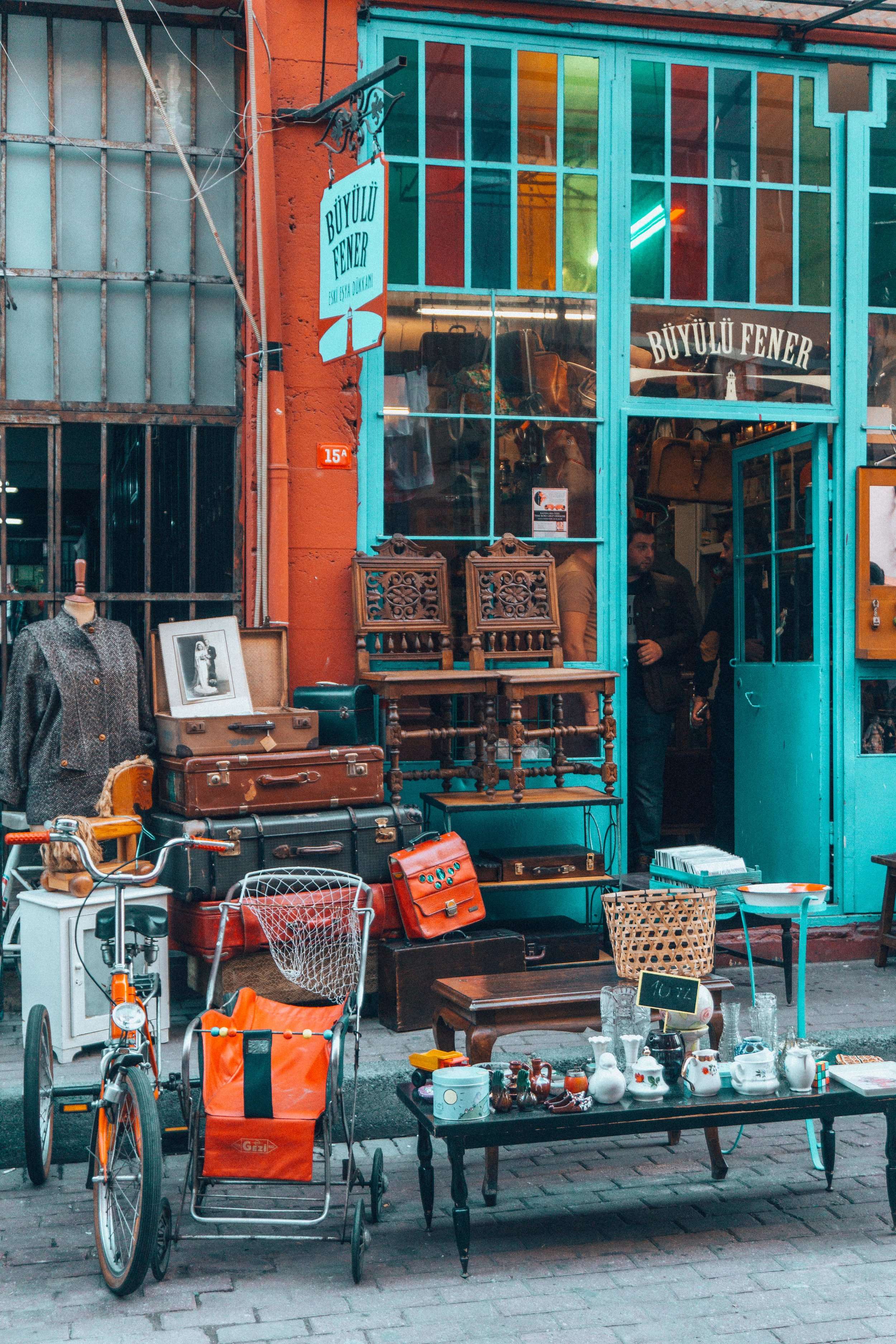 Antique Store in Balat, Istanbul