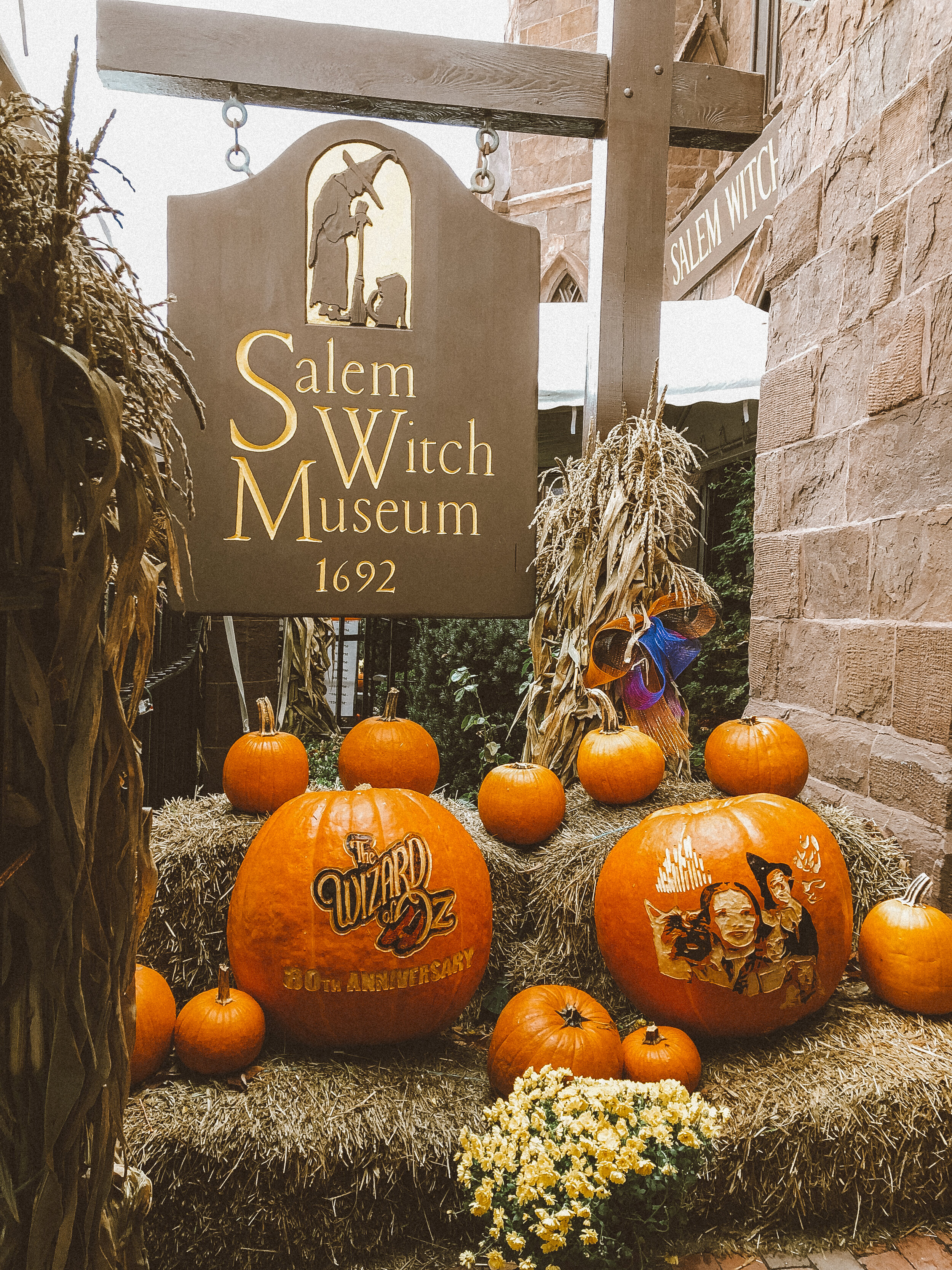 The Salem Witch Museum—19 1/2 Washington Square North