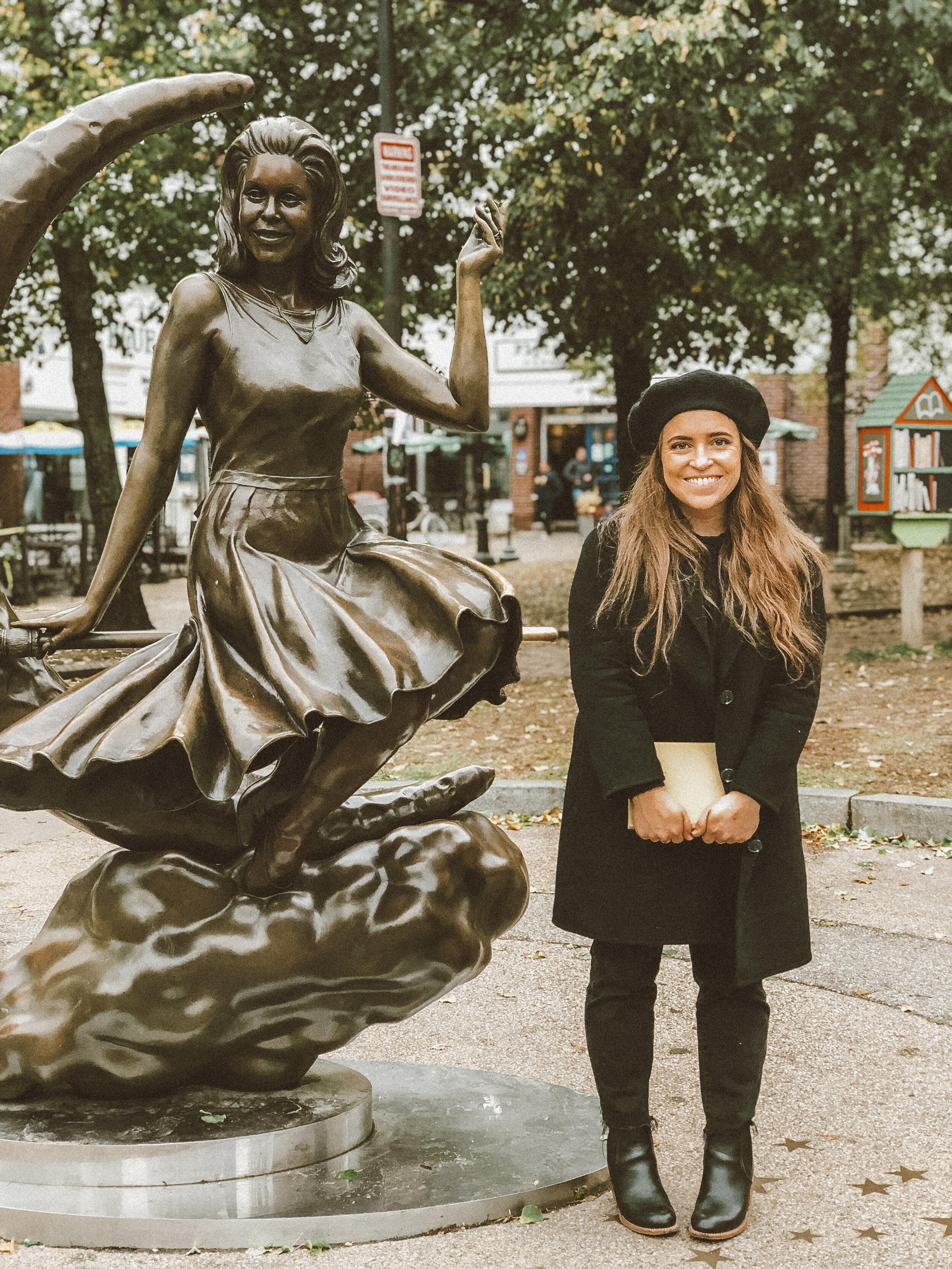 Bewitched Statue—235 Essex Street