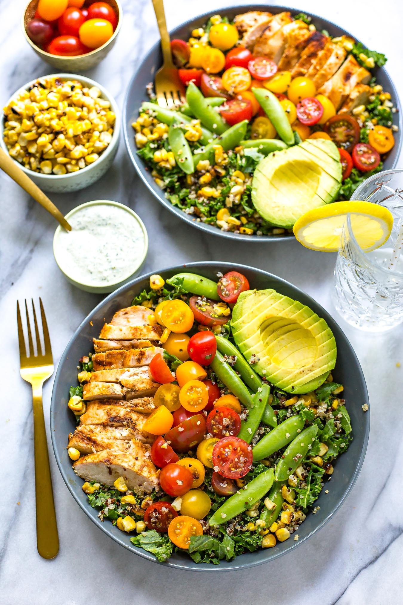 Chicken Ranch Kale & Quinoa Bowls-1.jpg
