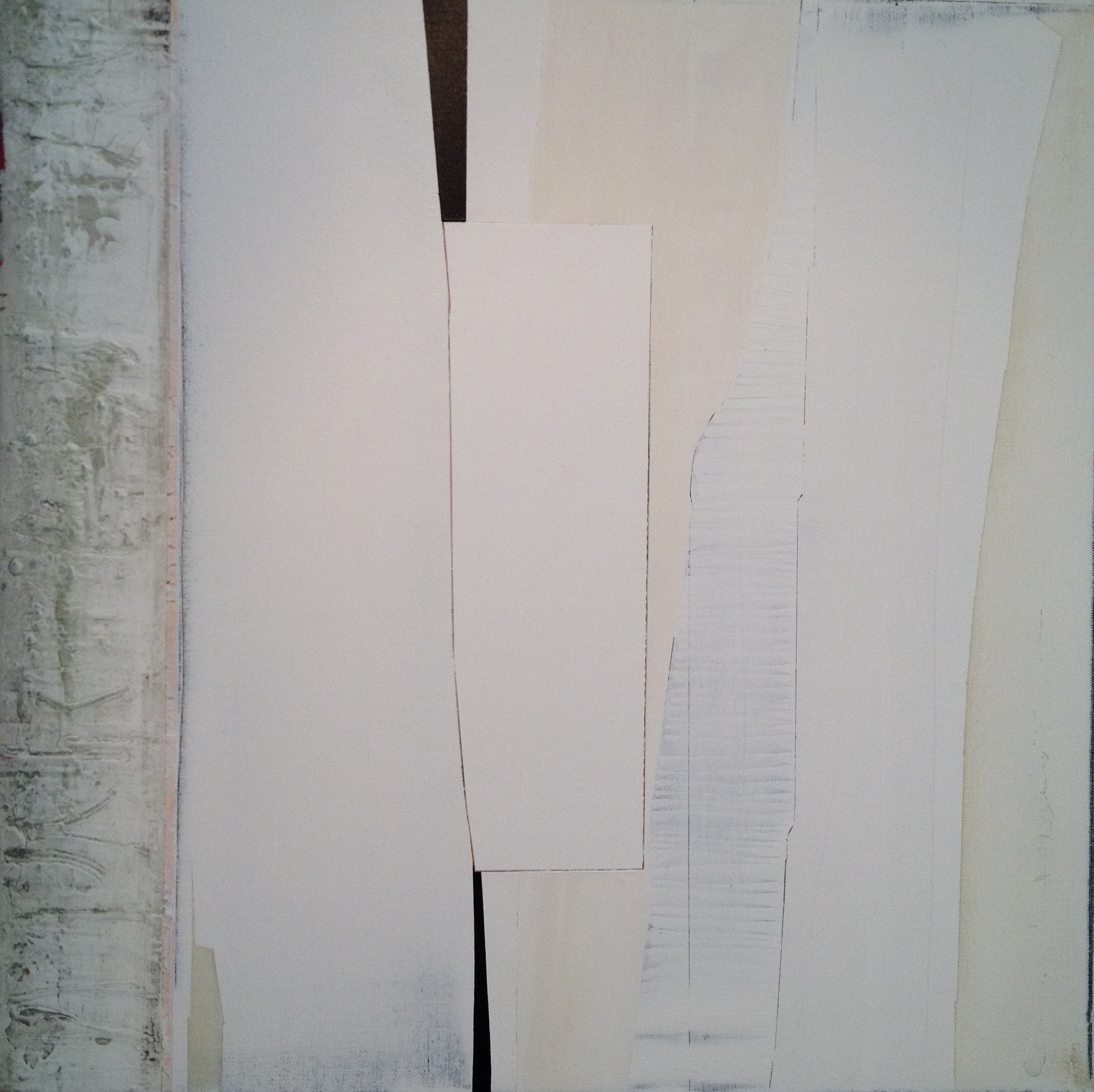 """""""GHOSTING"""", 2016, 24""""x24"""", on canvas. in private collection"""