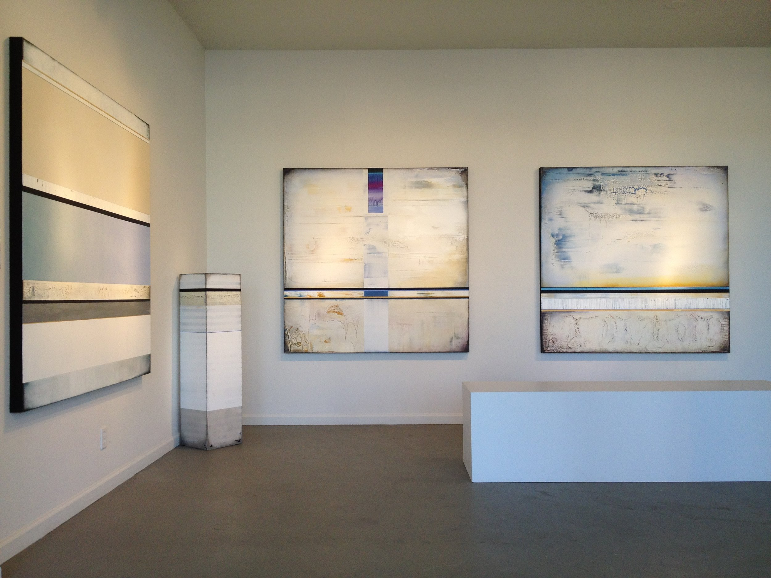 RESTRAINT, 2015 solo exhibition at Archangel Gallery, Palm Springs, CA