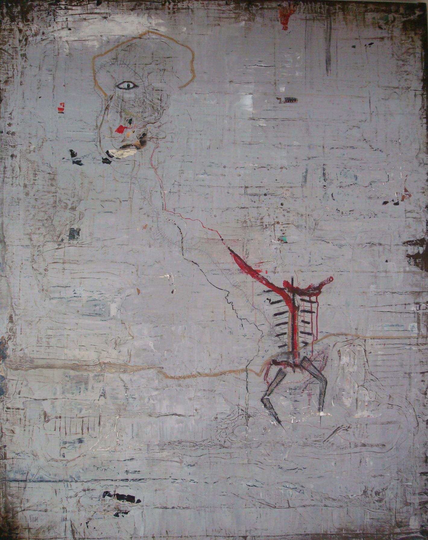"""""""Loom"""", 2008, 60x48, in private collection"""