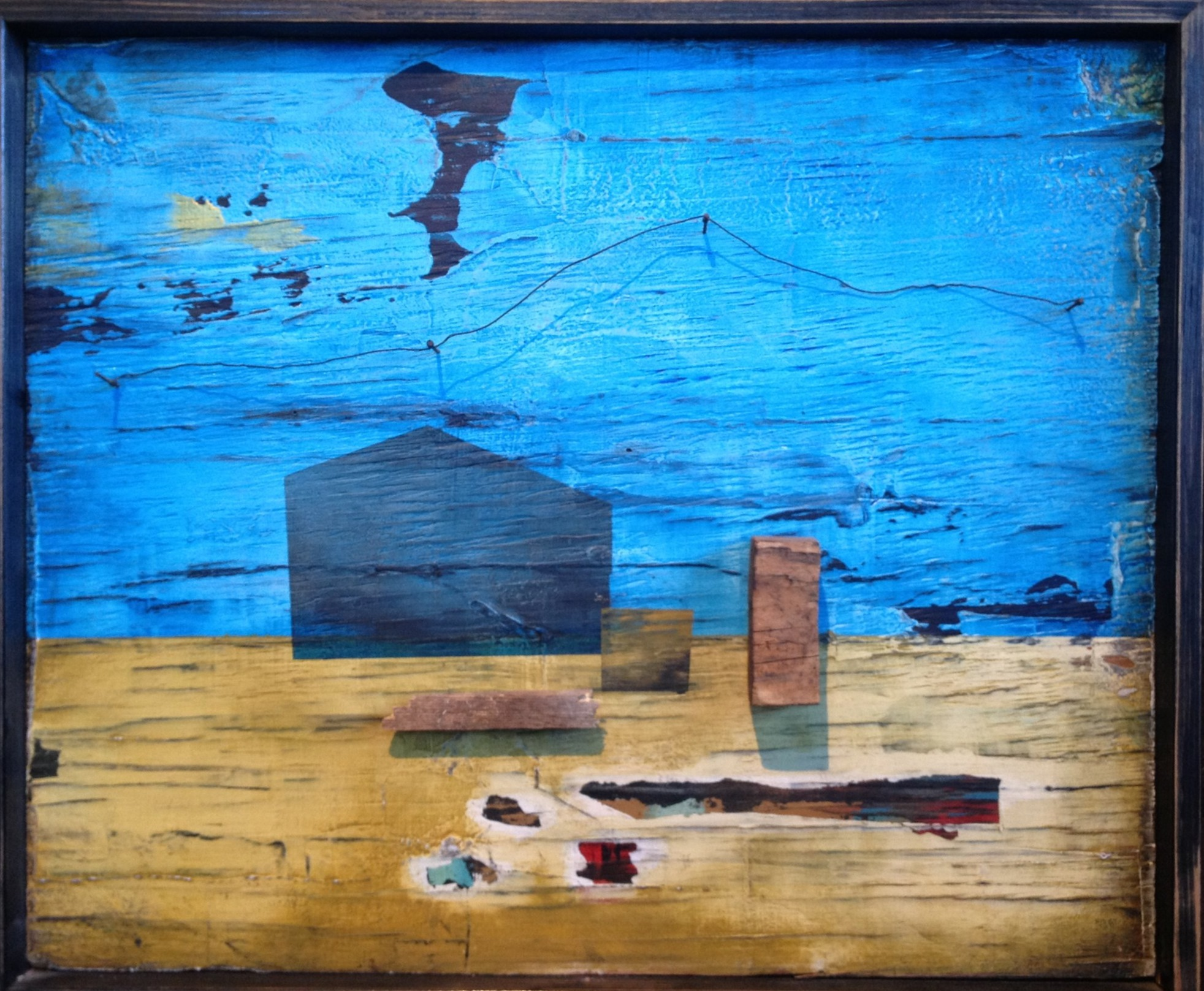 """""""Homestead I"""", 2012, 24x30, in private collection"""