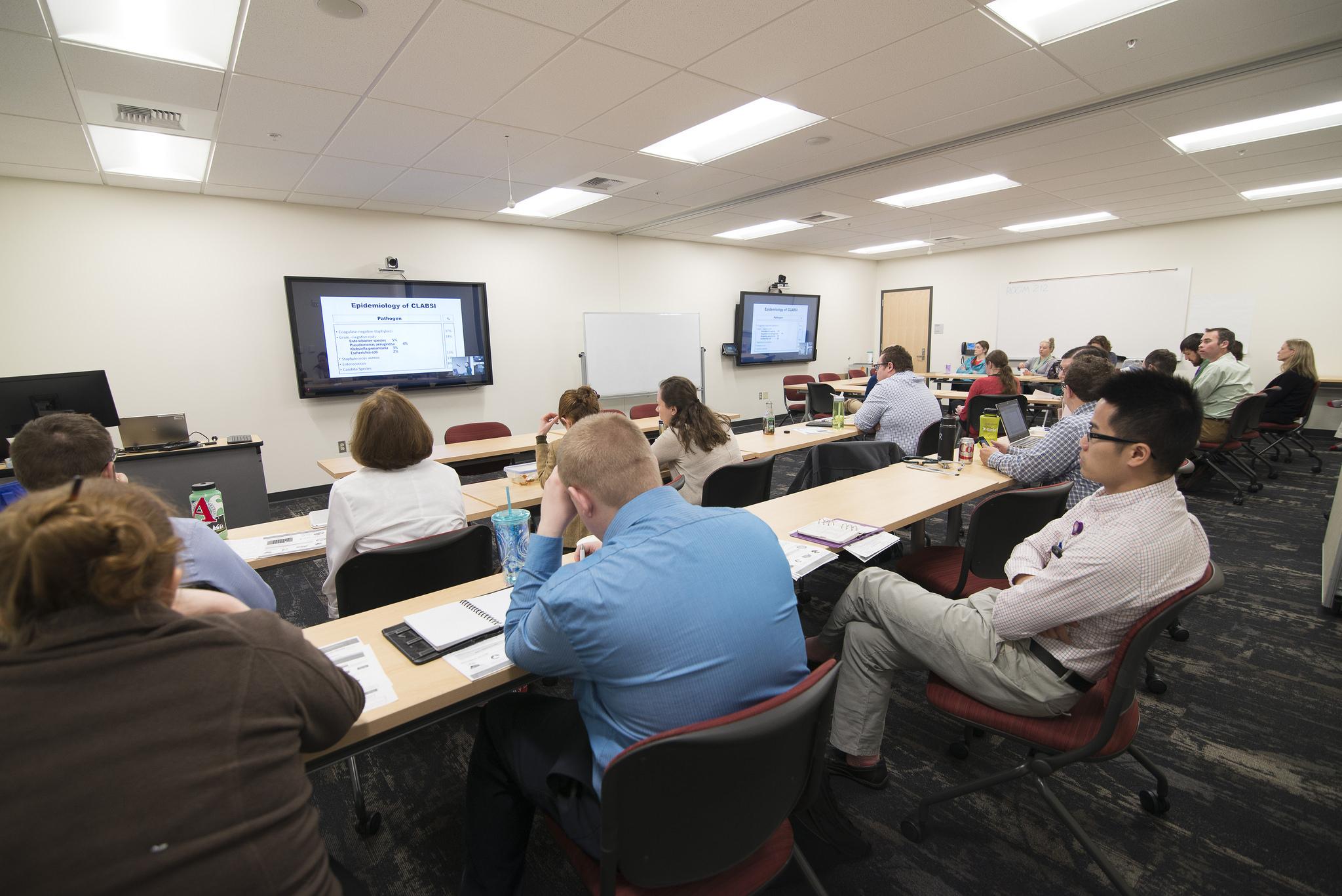 Classroom in the Spokane Teaching Health Clinic