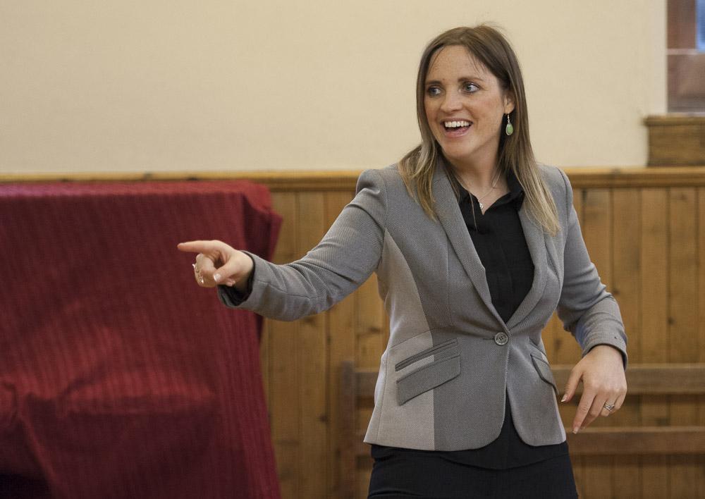 Public Speaking Expert Clare Cairns, Scotland