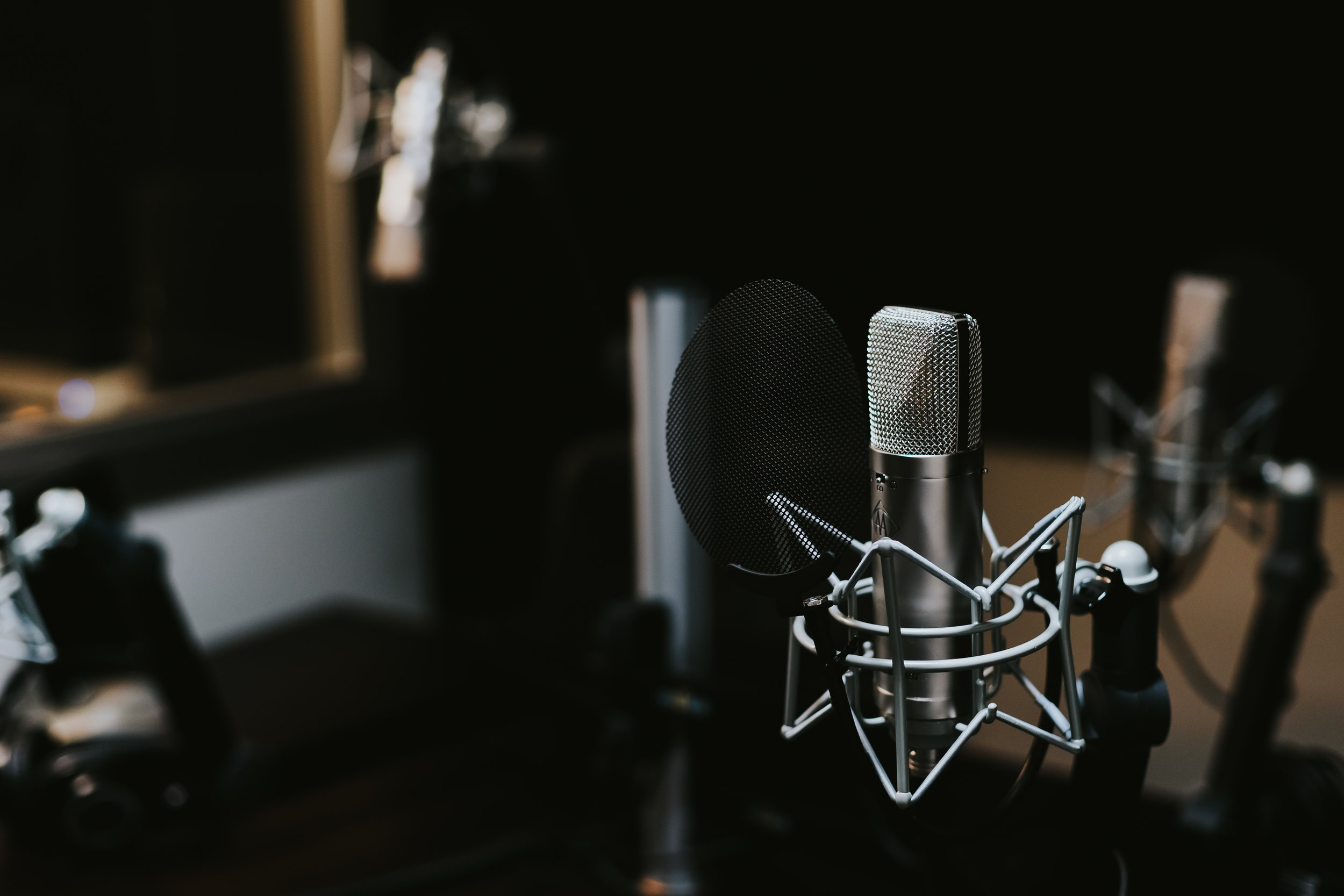 Recording Studio for Voice Over Artists