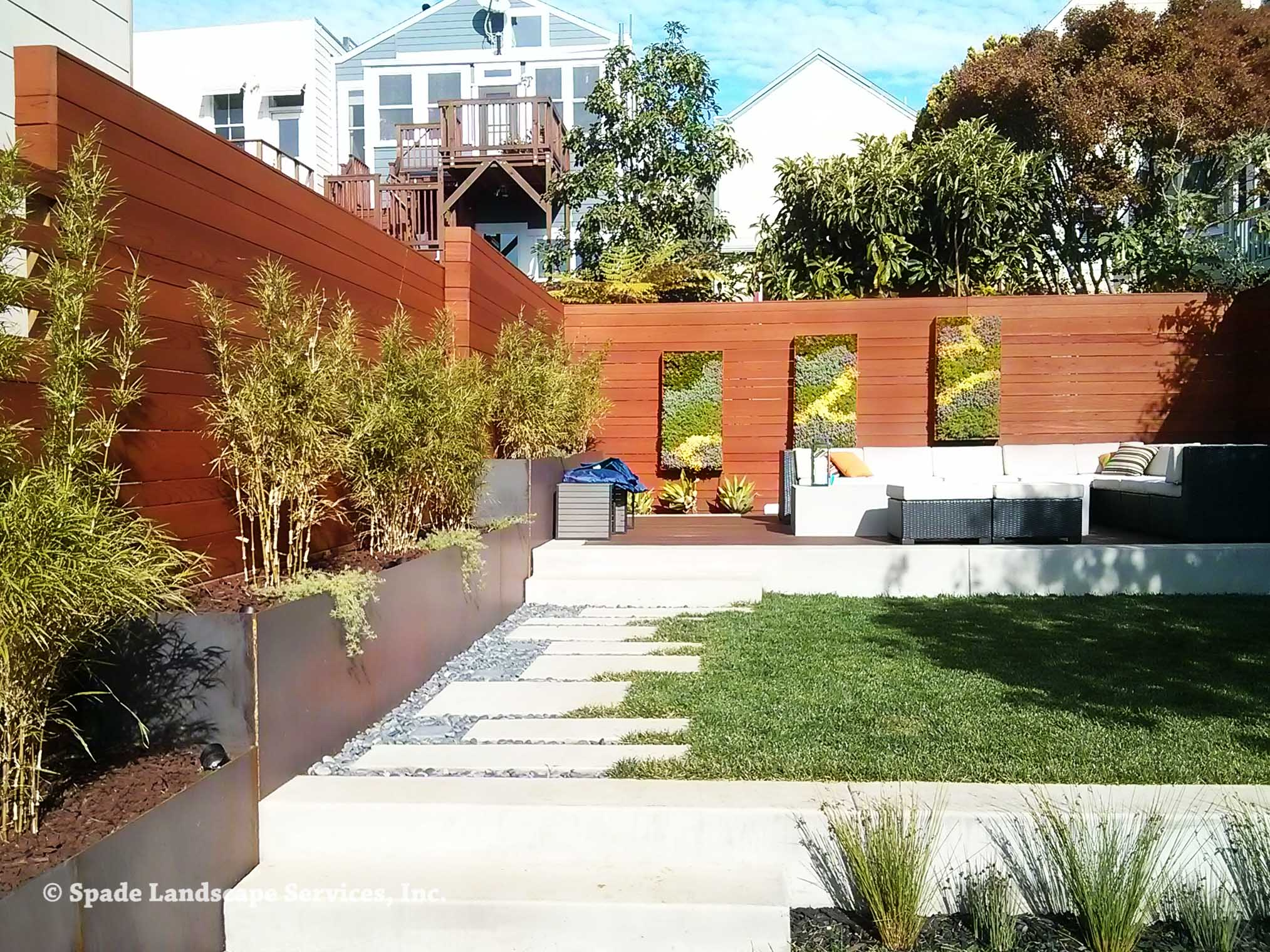 Modern Outdoor Private Space