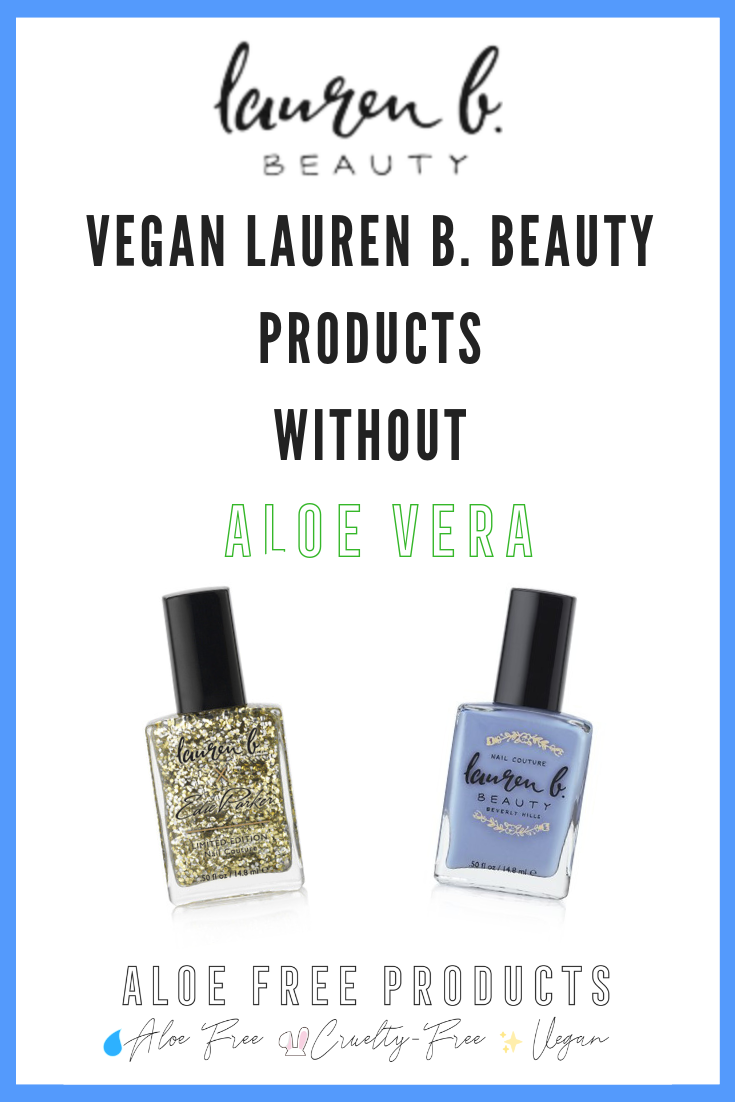 Lauren B. Beauty is cruelty-free and vegan. - Nail polishes galore!