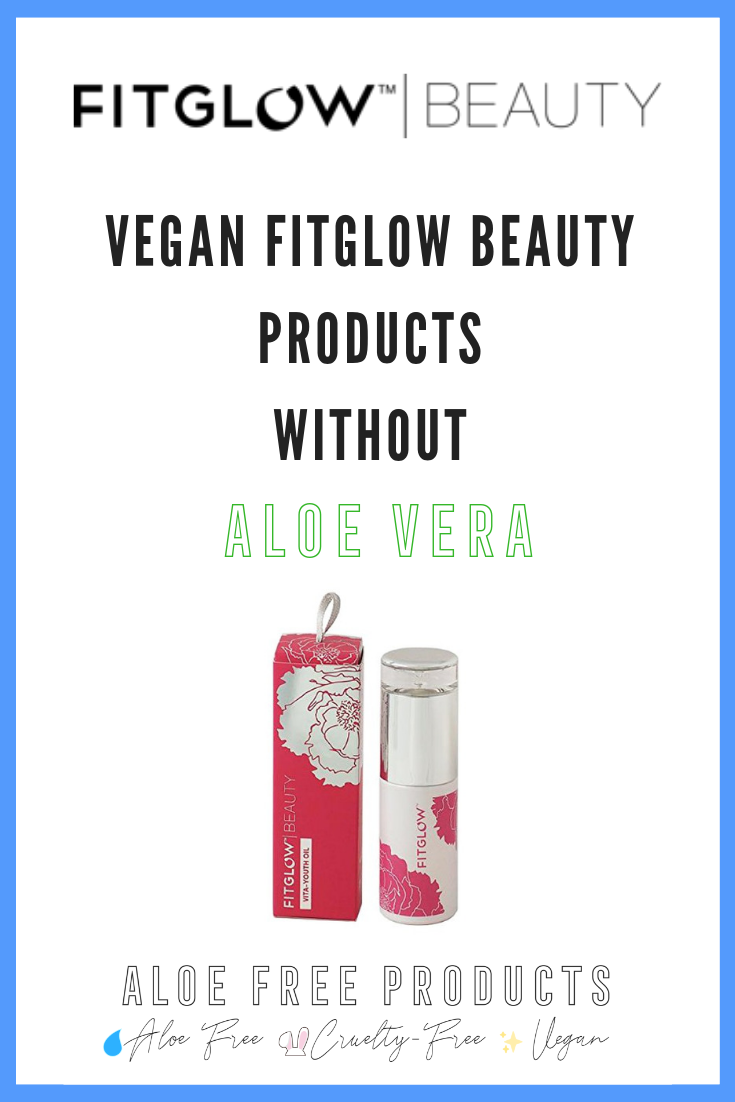 Fitglow Beauty is cruelty-free. - This gluten-free line is free free free from most nasties too.