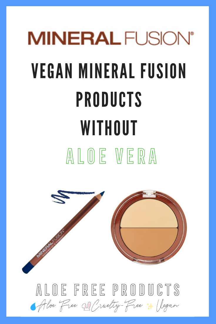 Mineral Fusion is cruelty-free. -