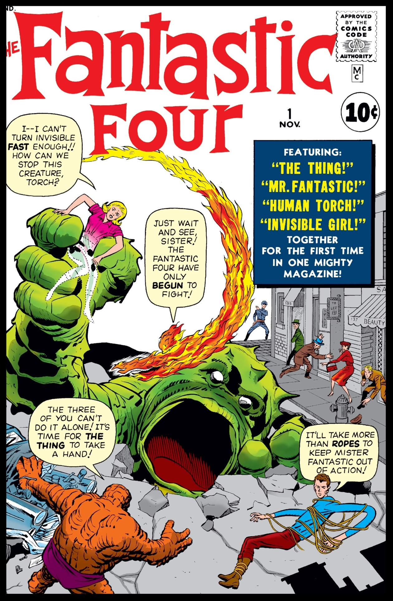 Fantastic Four (1961) #1 Cover