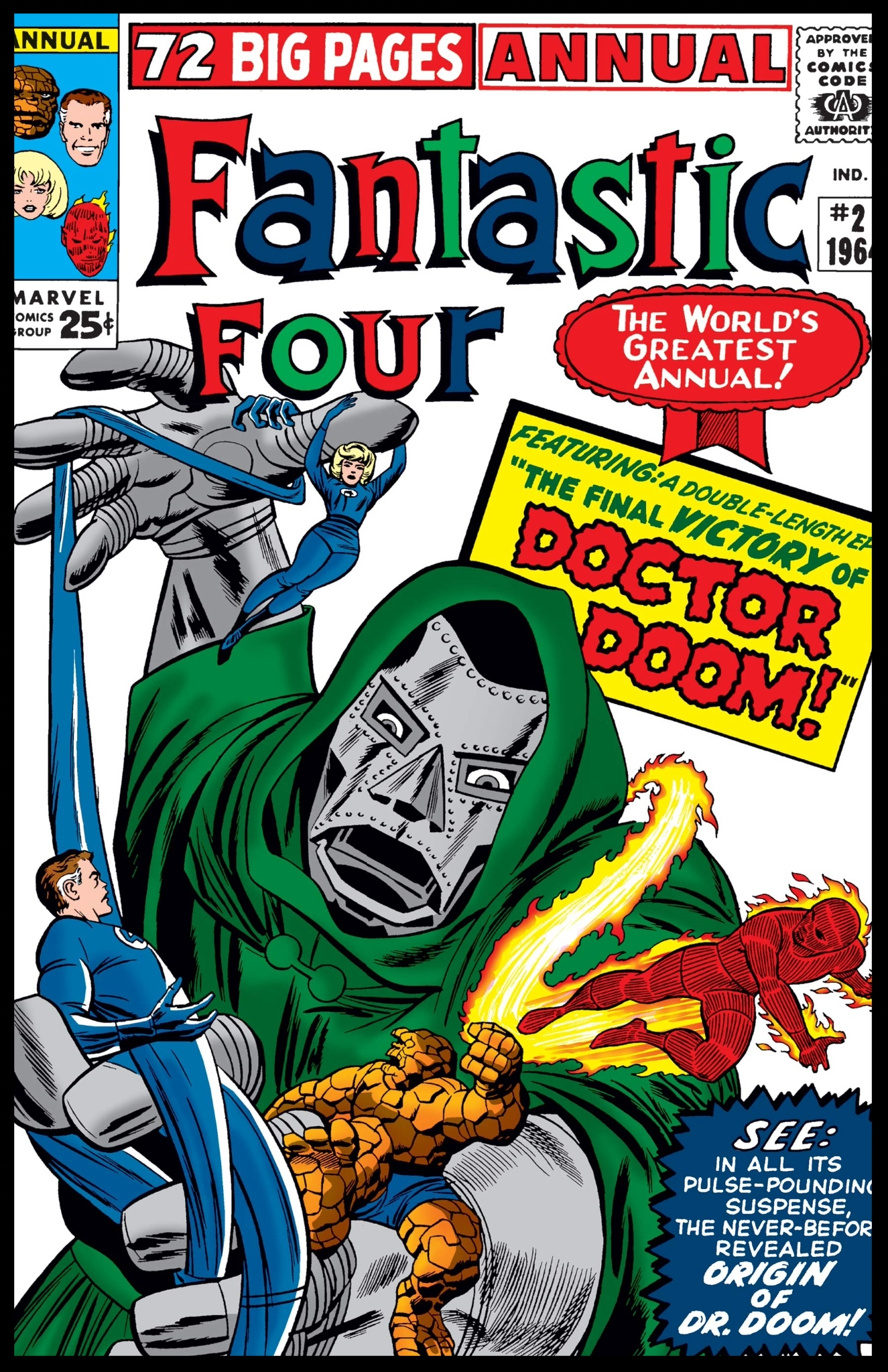 Fantastic Four Annual #2 Cover