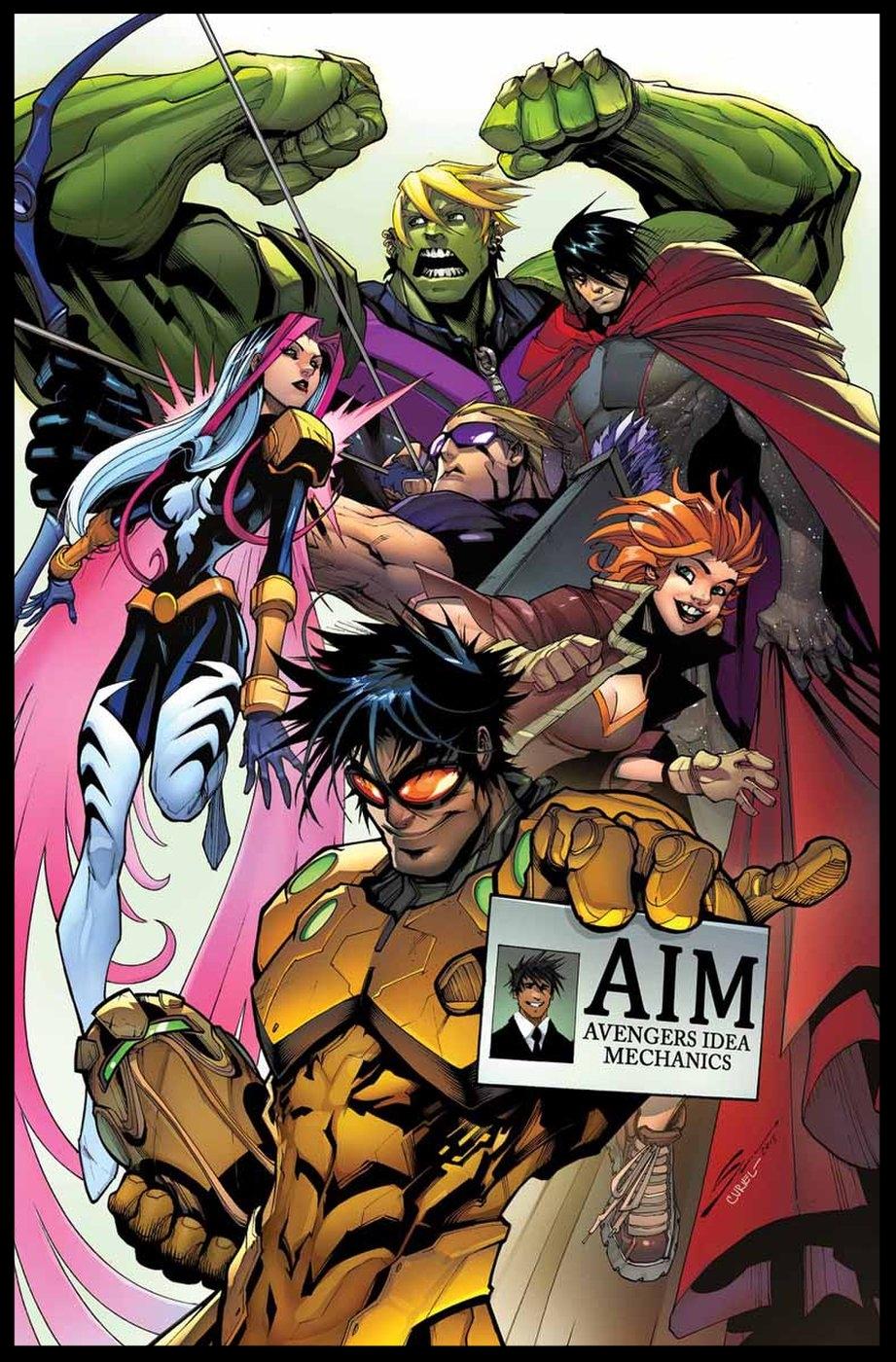 New Avengers (2015) #1 Cover