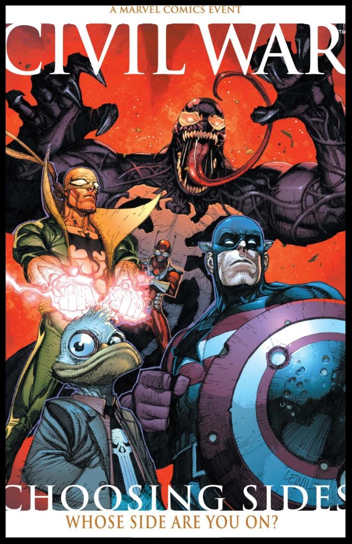 Civil War: Choosing Sides #1 Cover