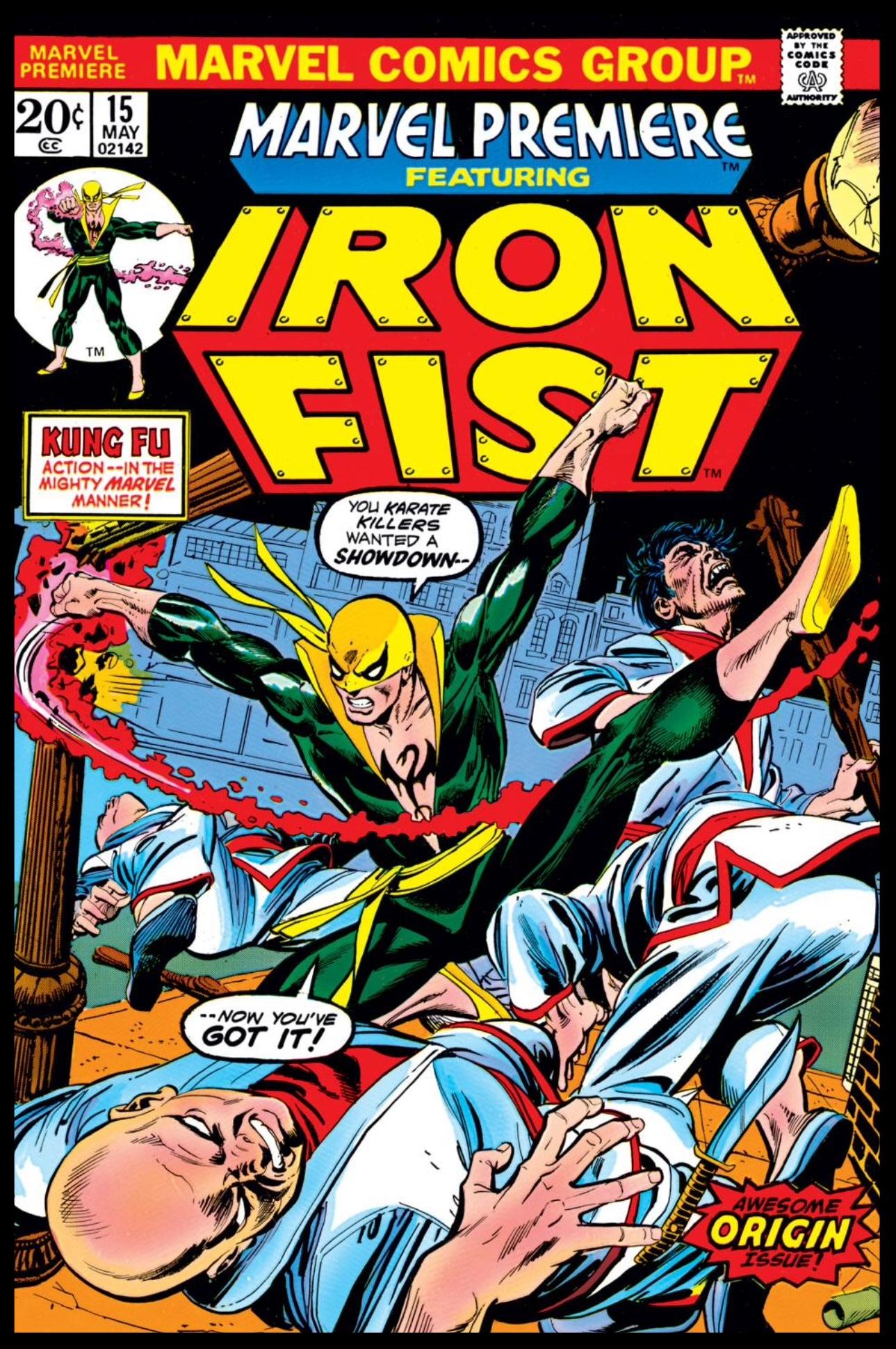Marvel Premiere #15 Cover