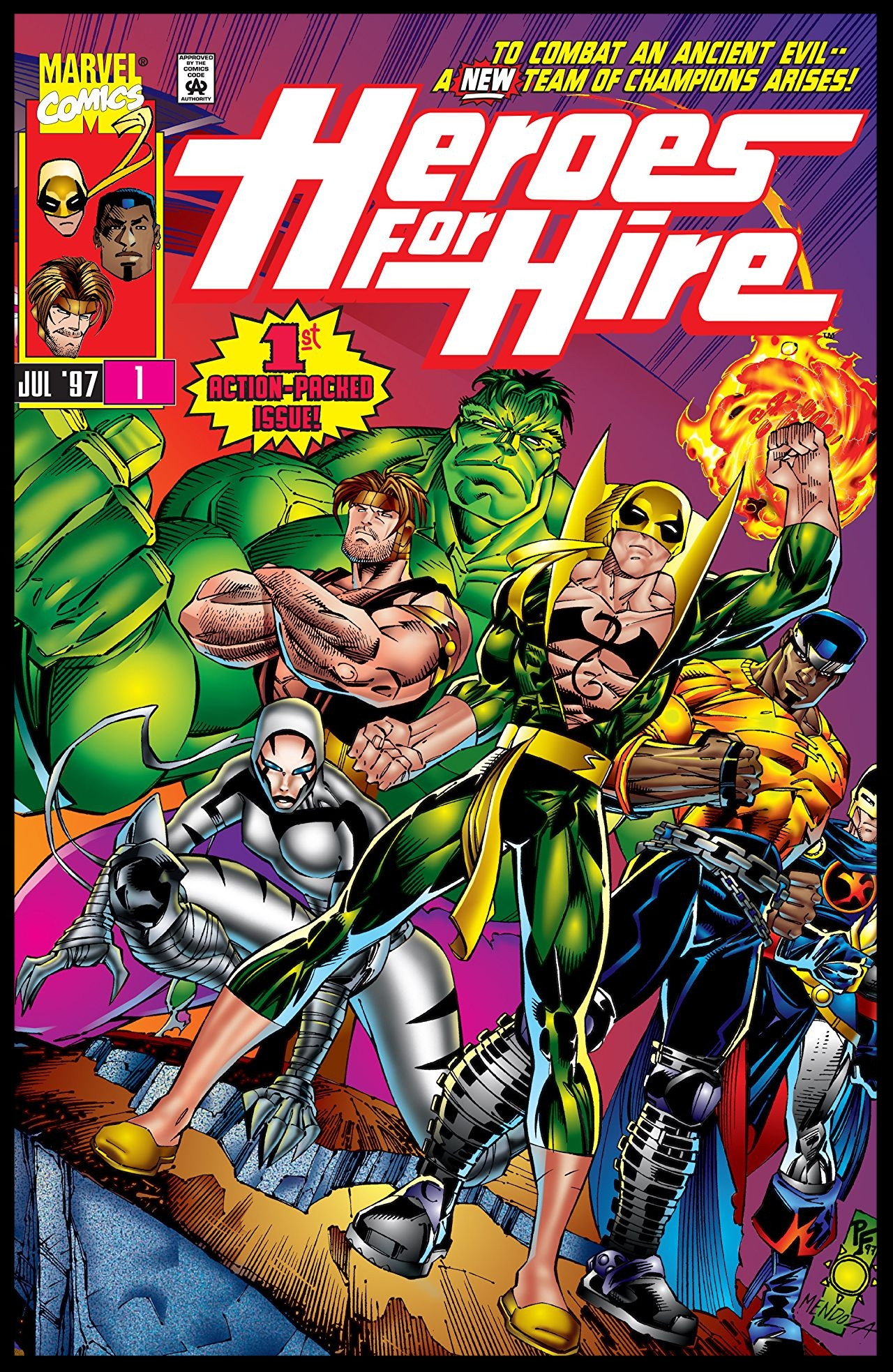 Heroes for Hire #1 Cover