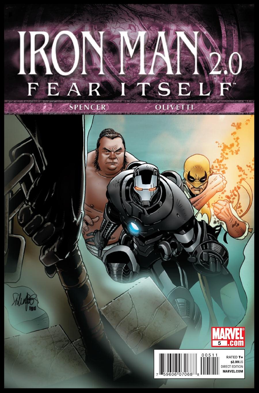 Iron Man 2.0 #5 Cover