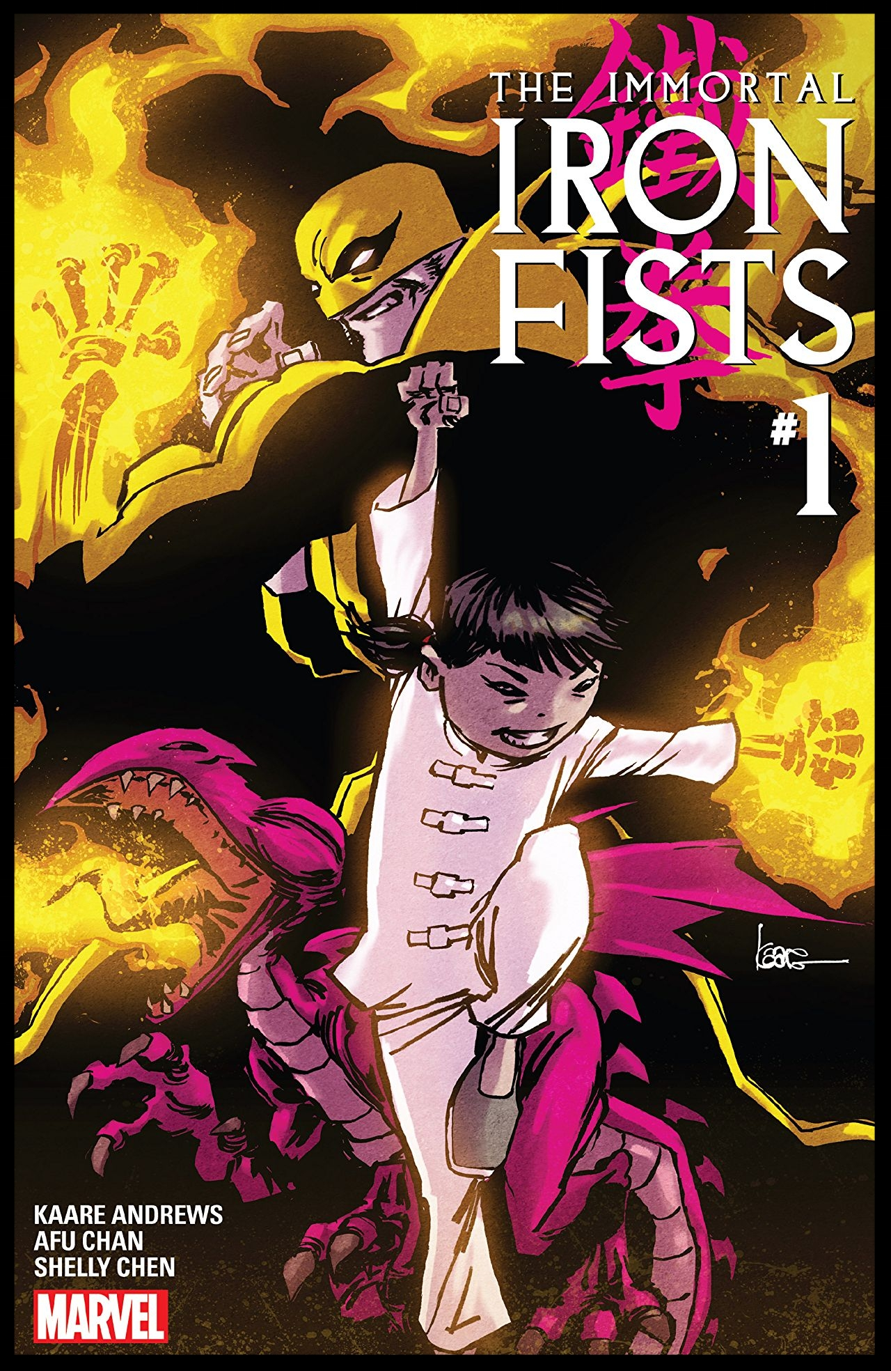The Immortal Iron Fists #1 Cover